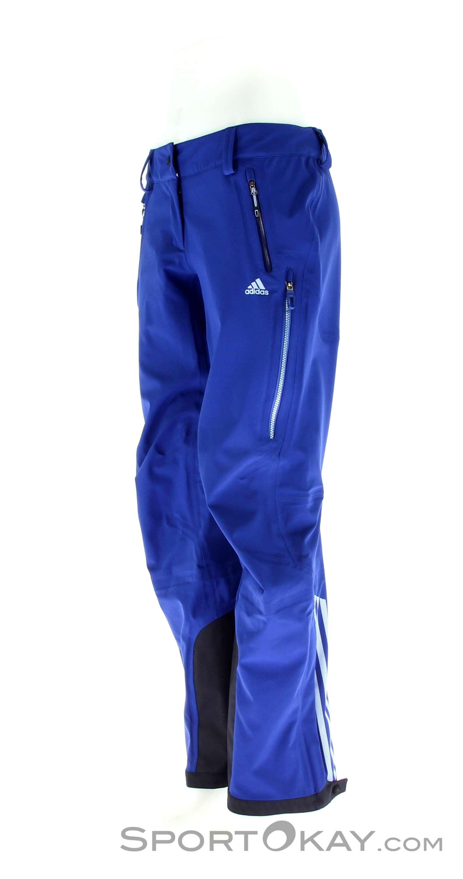 adidas w tx blaueis damen skihose skihosen skibekleidung ski freeride alle. Black Bedroom Furniture Sets. Home Design Ideas