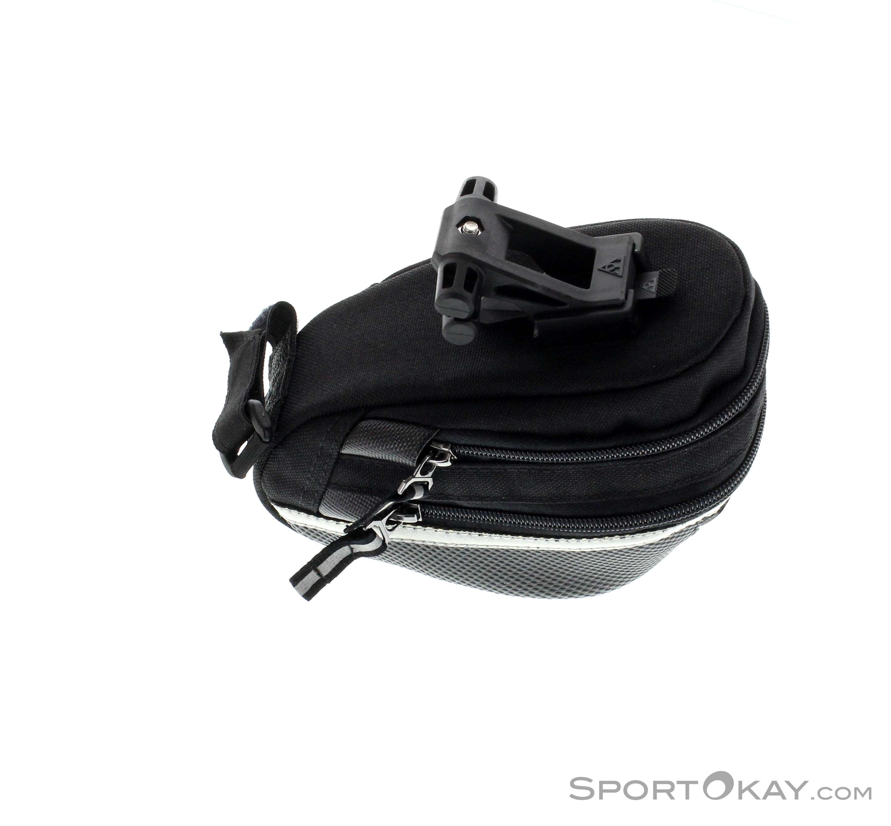 Topeak Wedge Pack 2 Medium 0.95-1.25L Fahrrad-Satteltasche schwarz mit Halterung
