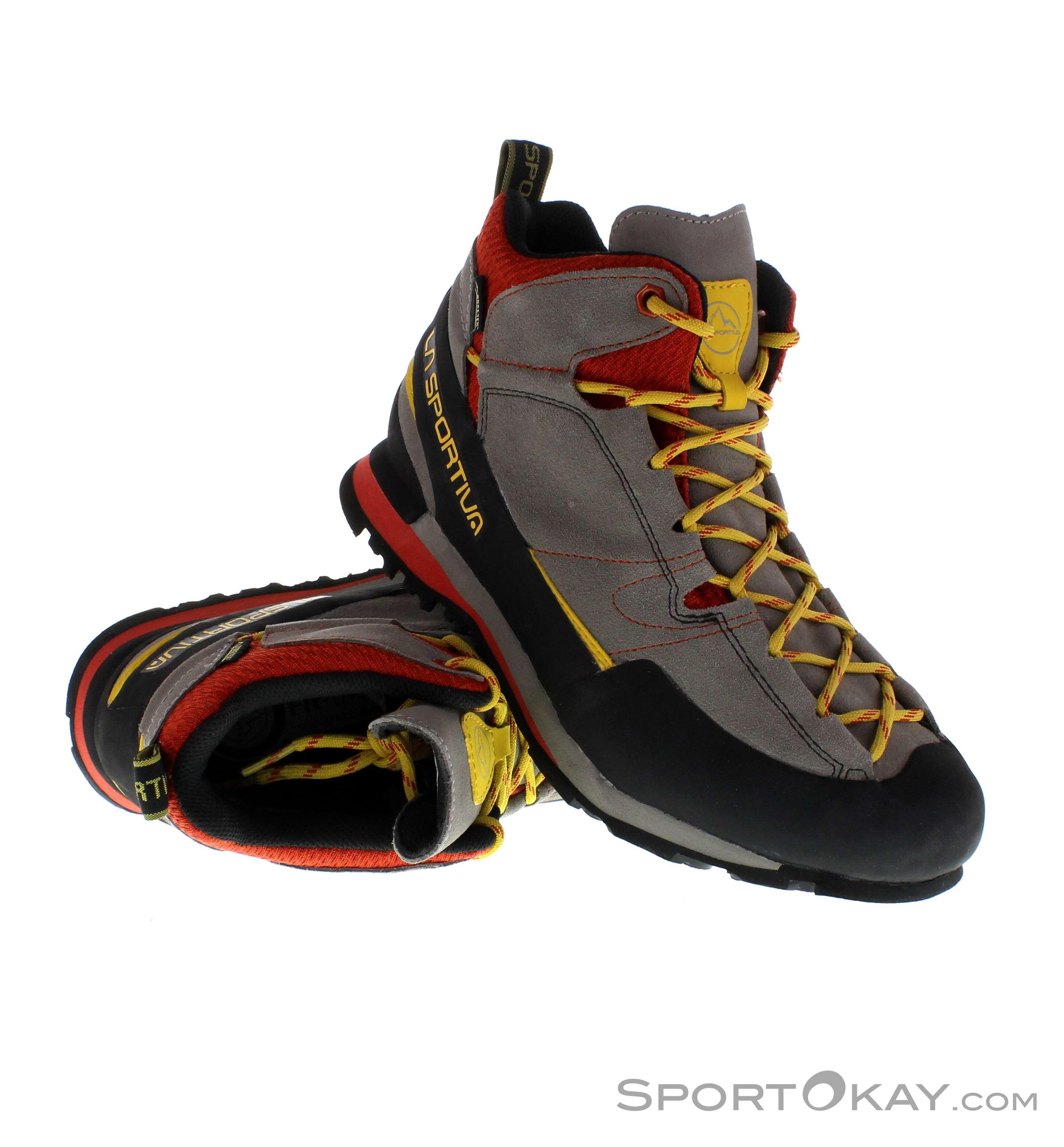 La Sportiva Boulder X Mid Uomo Scarpe Gore-Tex - Scarpe da ... ae070f2a58e