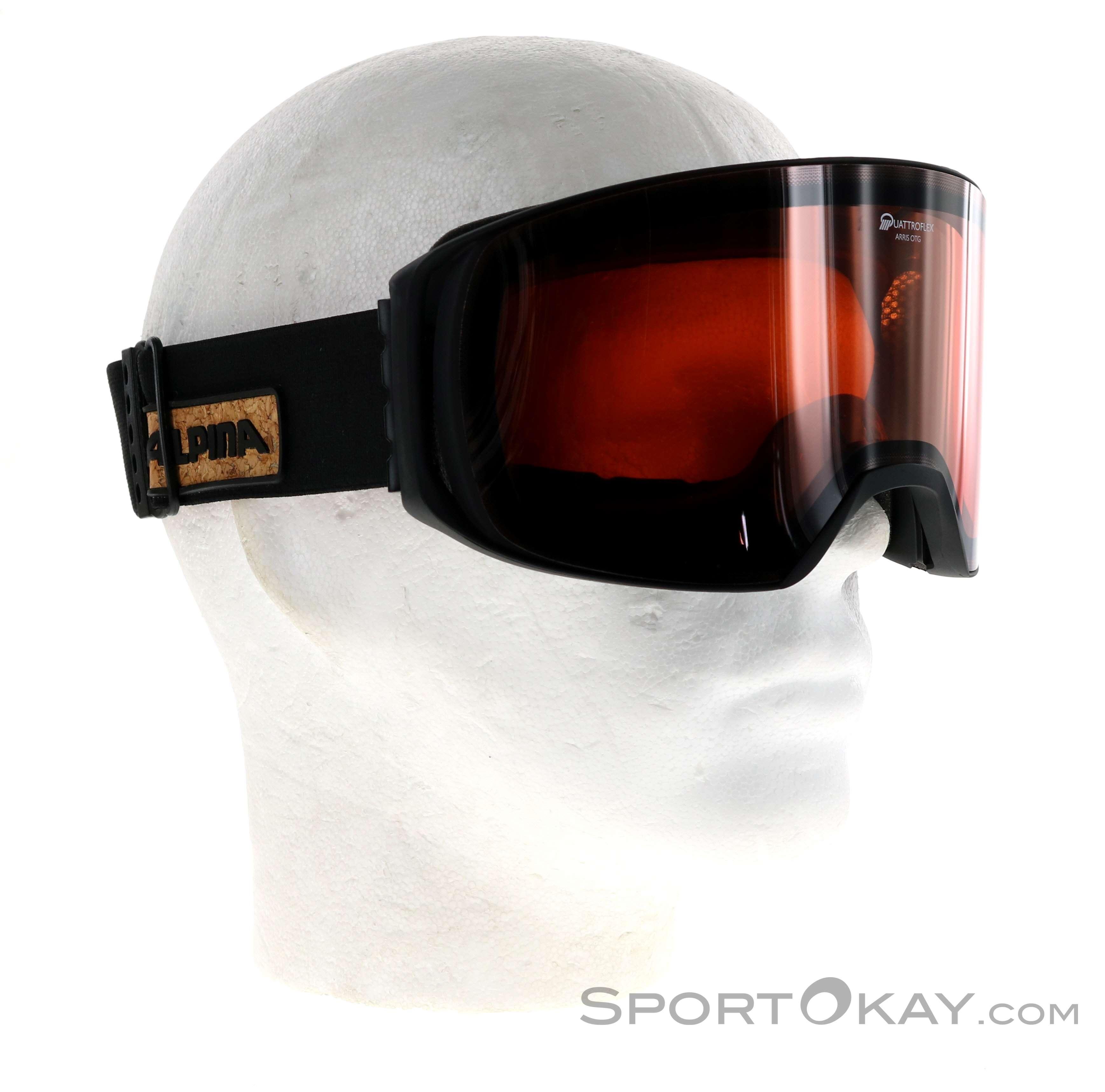 Alpina Arris QH Ski Goggles Ski Googles Glasses Ski Touring All - Alpina goggles
