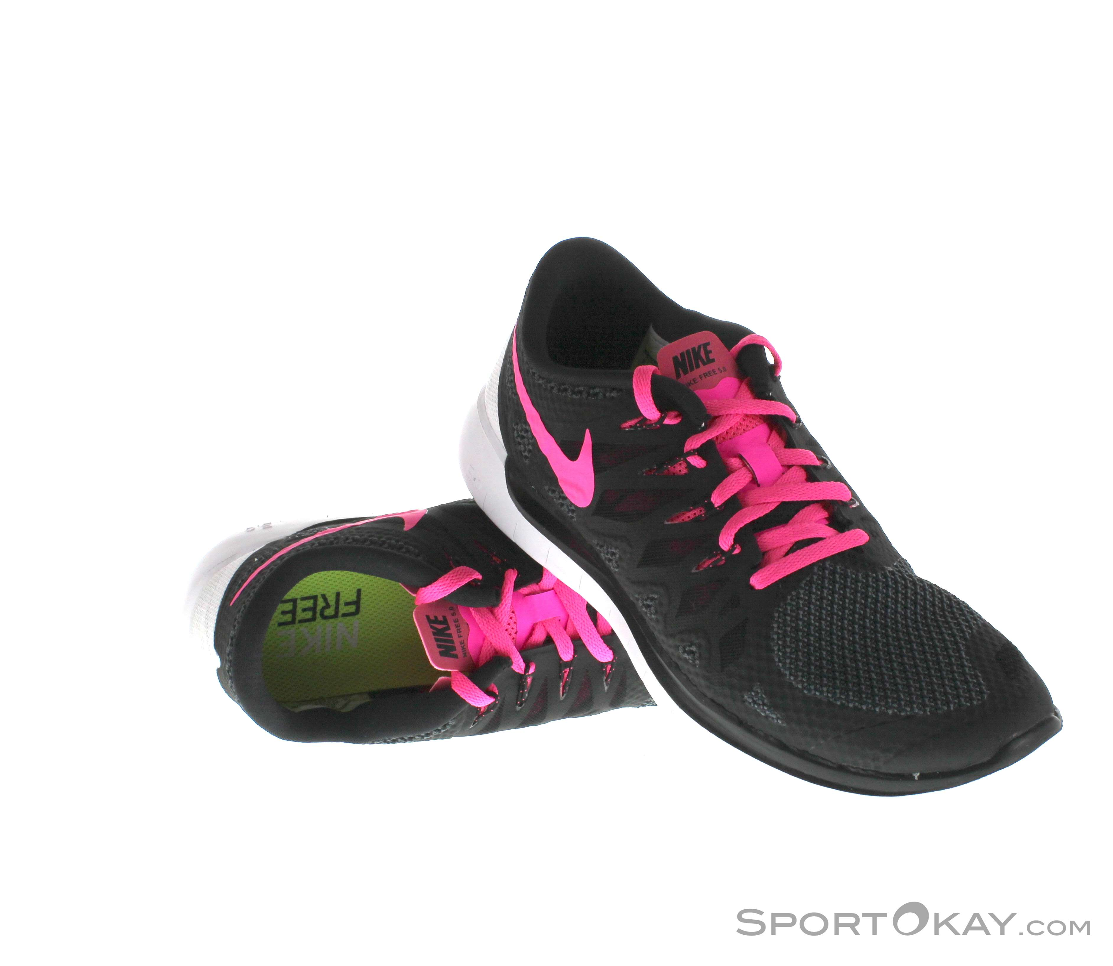 Nike Free 5.0 Laufschuhe Sportschuhe Damen Größe 40 schwarz