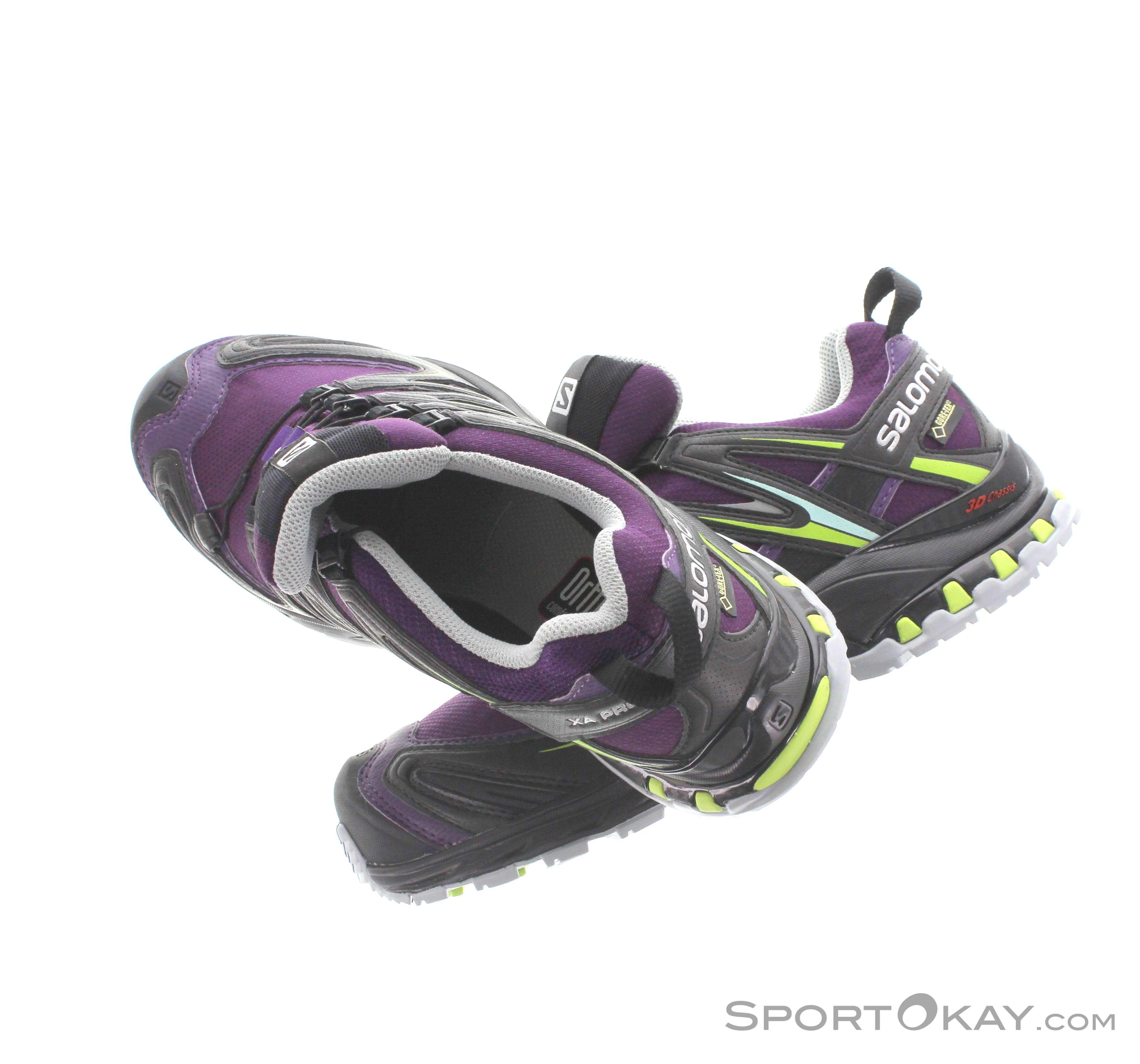 Salomon Salomon XA Pro 3D GTX Womens Trail Running Shoes Gore Tex
