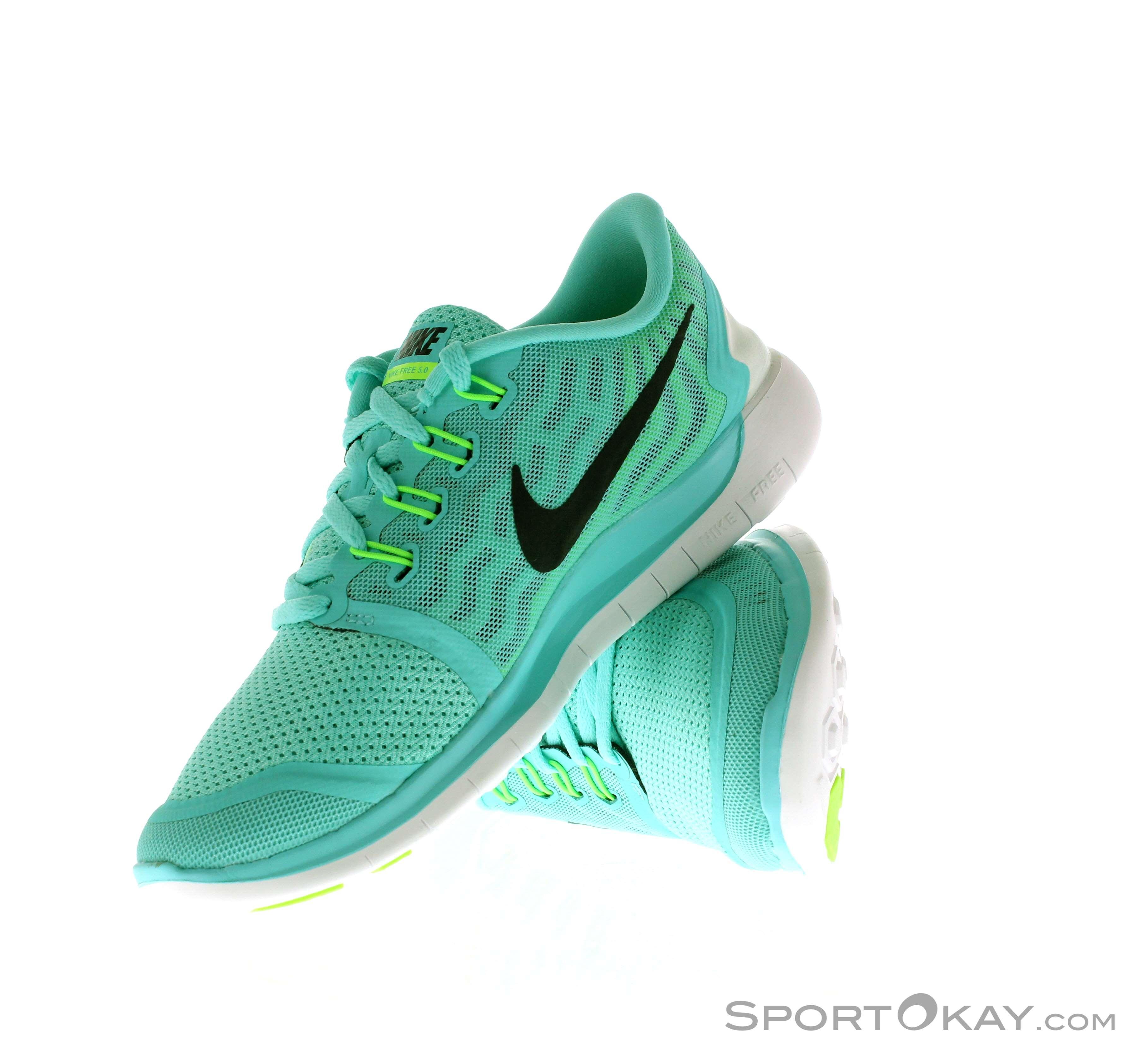 big sale 98c50 07367 Nike Free 5.0 Damen Laufschuhe, Nike, Blau, , Damen, 0026-10230