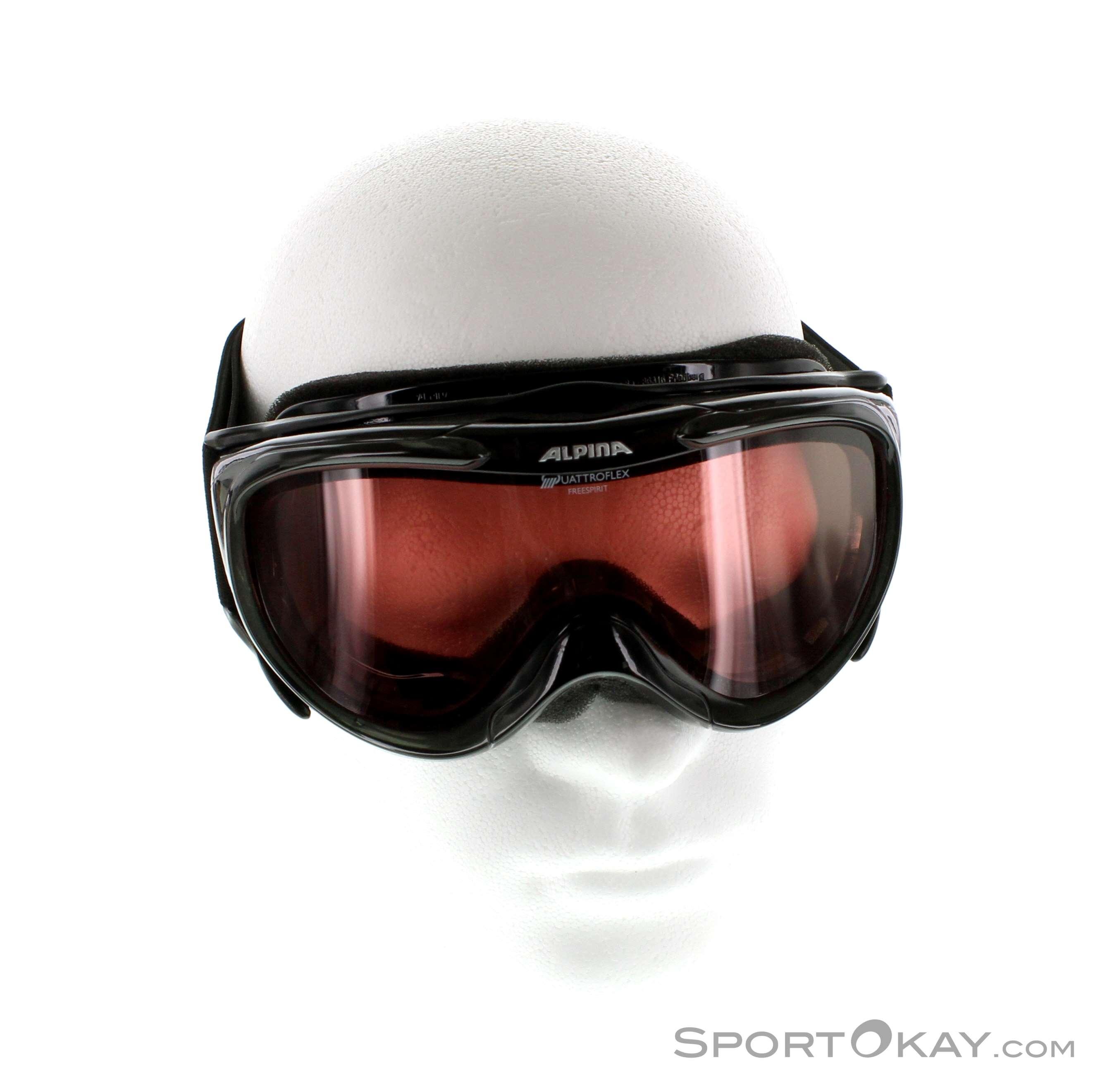 Alpina Freespirit QL Ski Goggles Ski Googles Glasses Ski - Alpina goggles