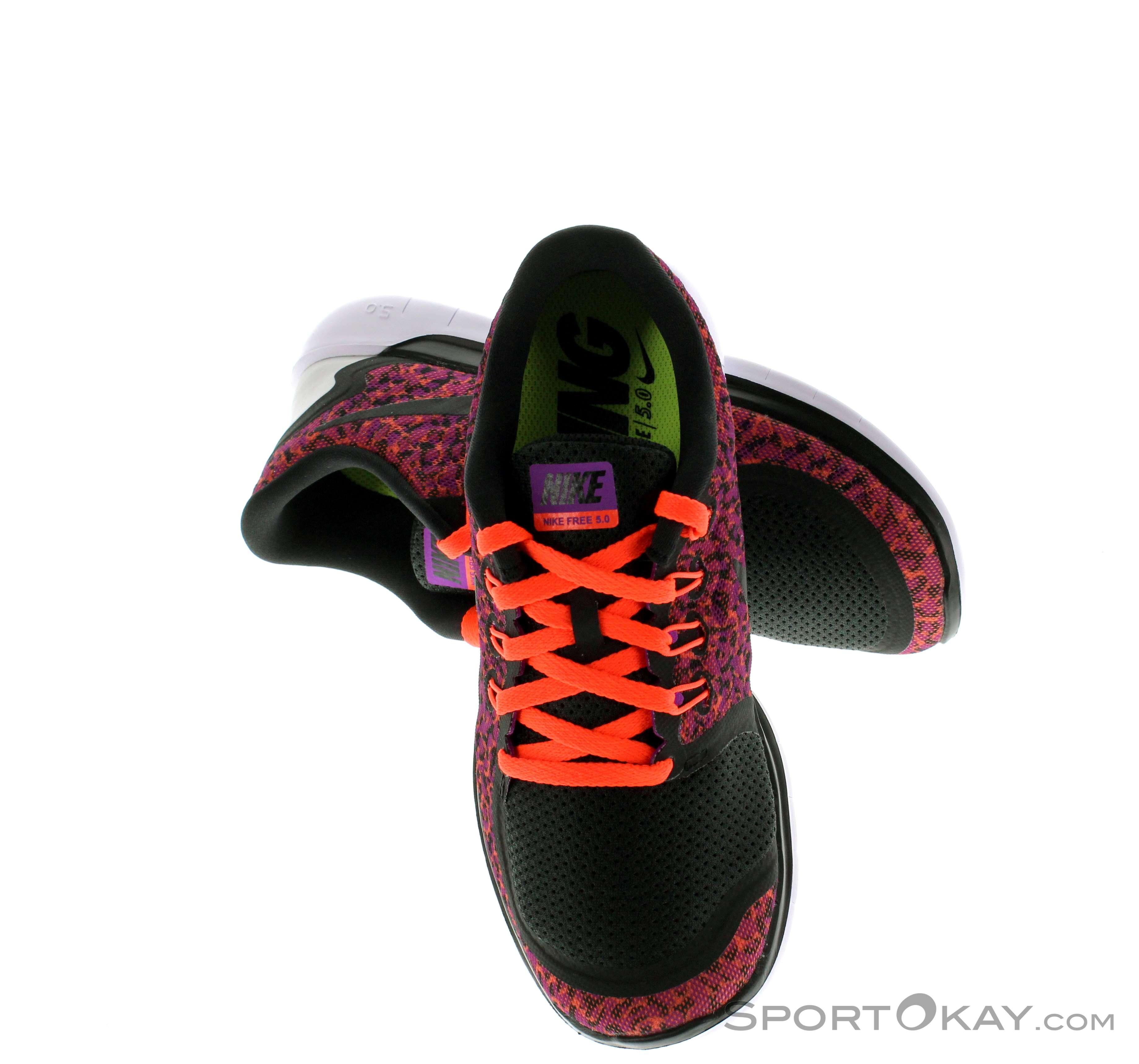 Nike Free 5.0 Print Damen Laufschuh