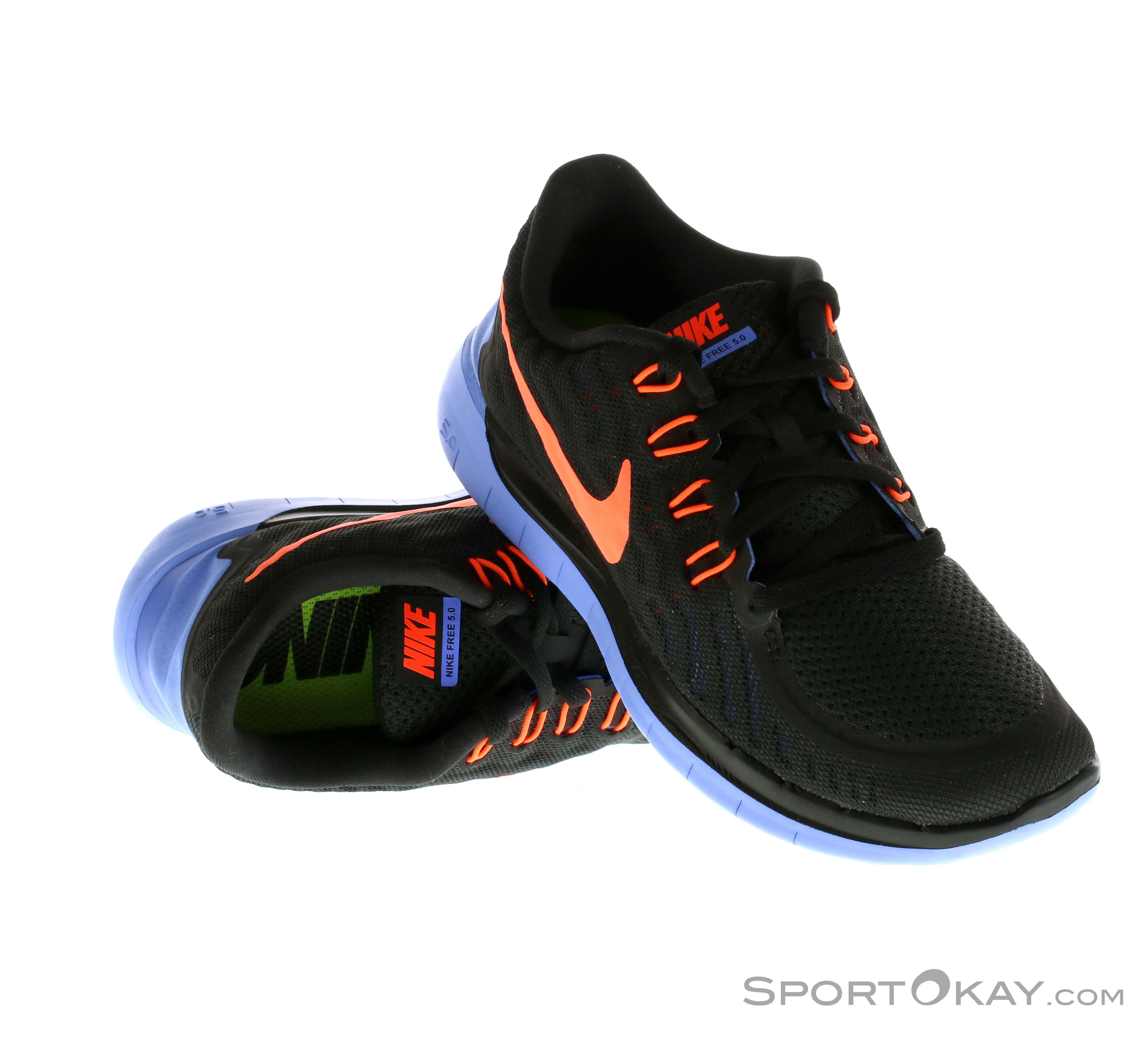 Nike Free 5.0 Damen Laufschuhe, Nike, Schwarz, , Damen, 0026-10359
