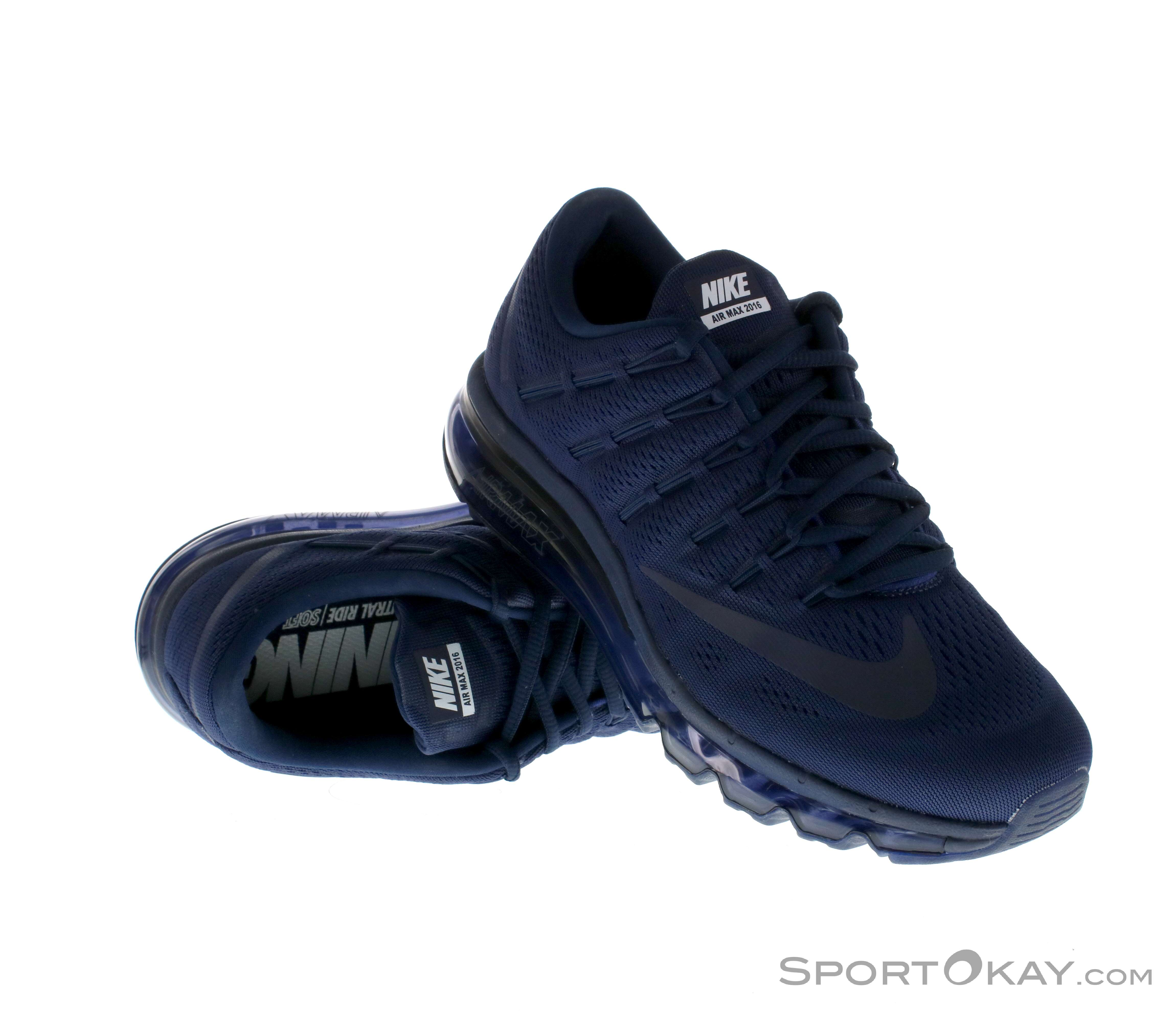 new product 23b89 8bb9b Nike Air Max 2016 Mens Running Shoes, Nike, Blue, , Male, 0026