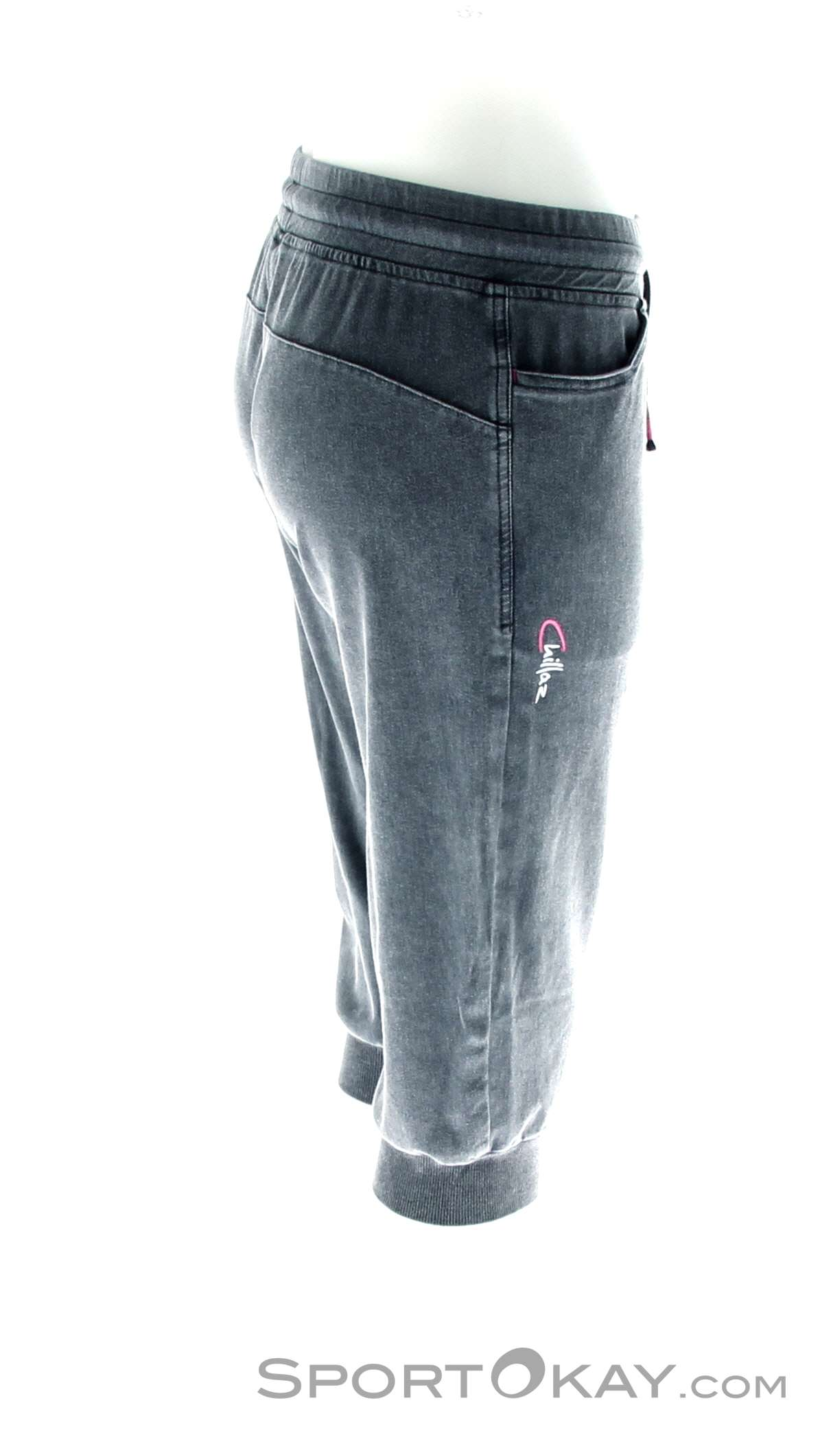 6da4be910c280d Chillaz Hilos 3/4 Pant Womens Climbing Pants , Chillaz, Gray, , Female
