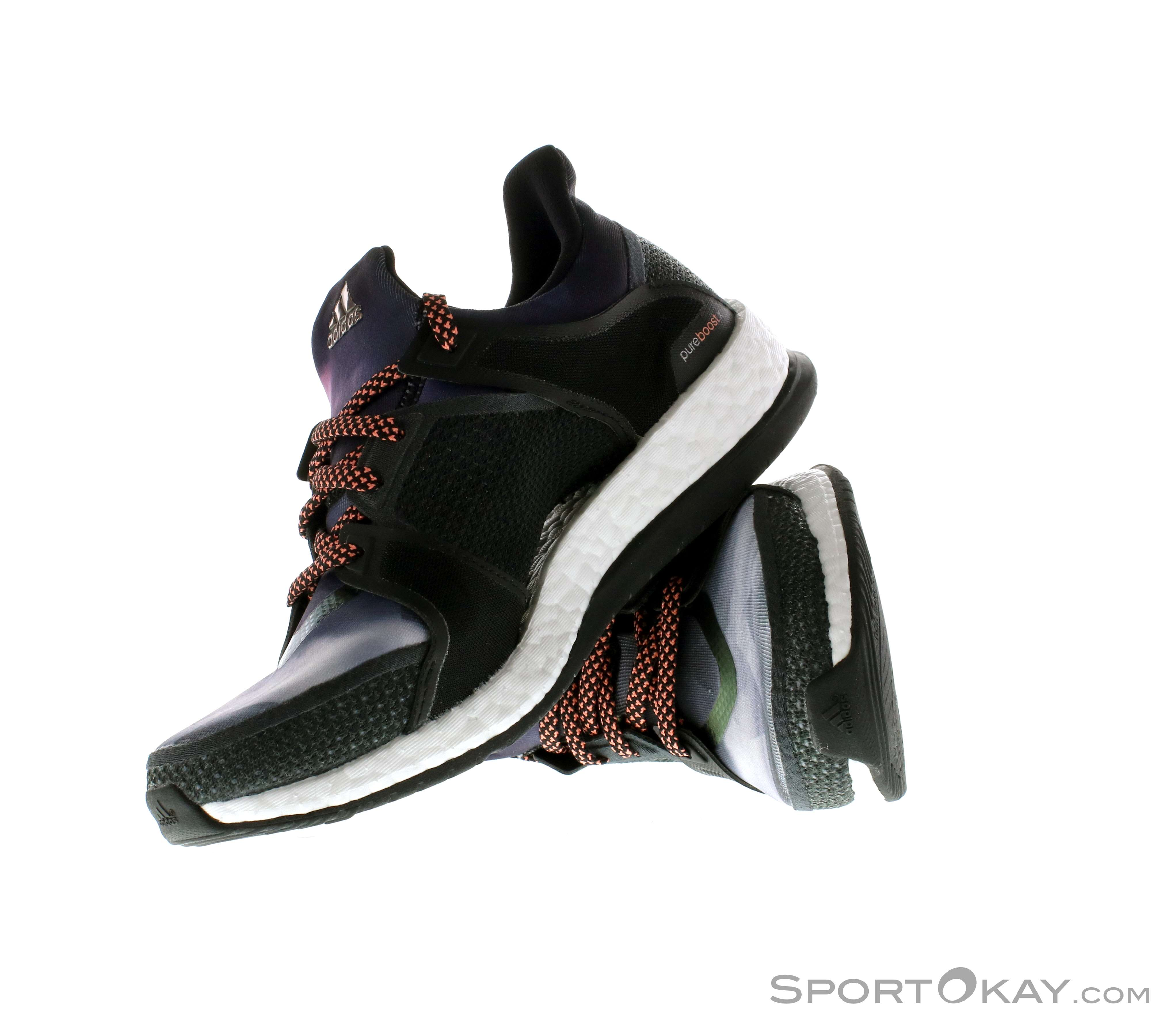 premium selection 37b78 41d00 adidas Pure Boost X TR Womens Indoor Court Shoes, adidas, Black, , Female