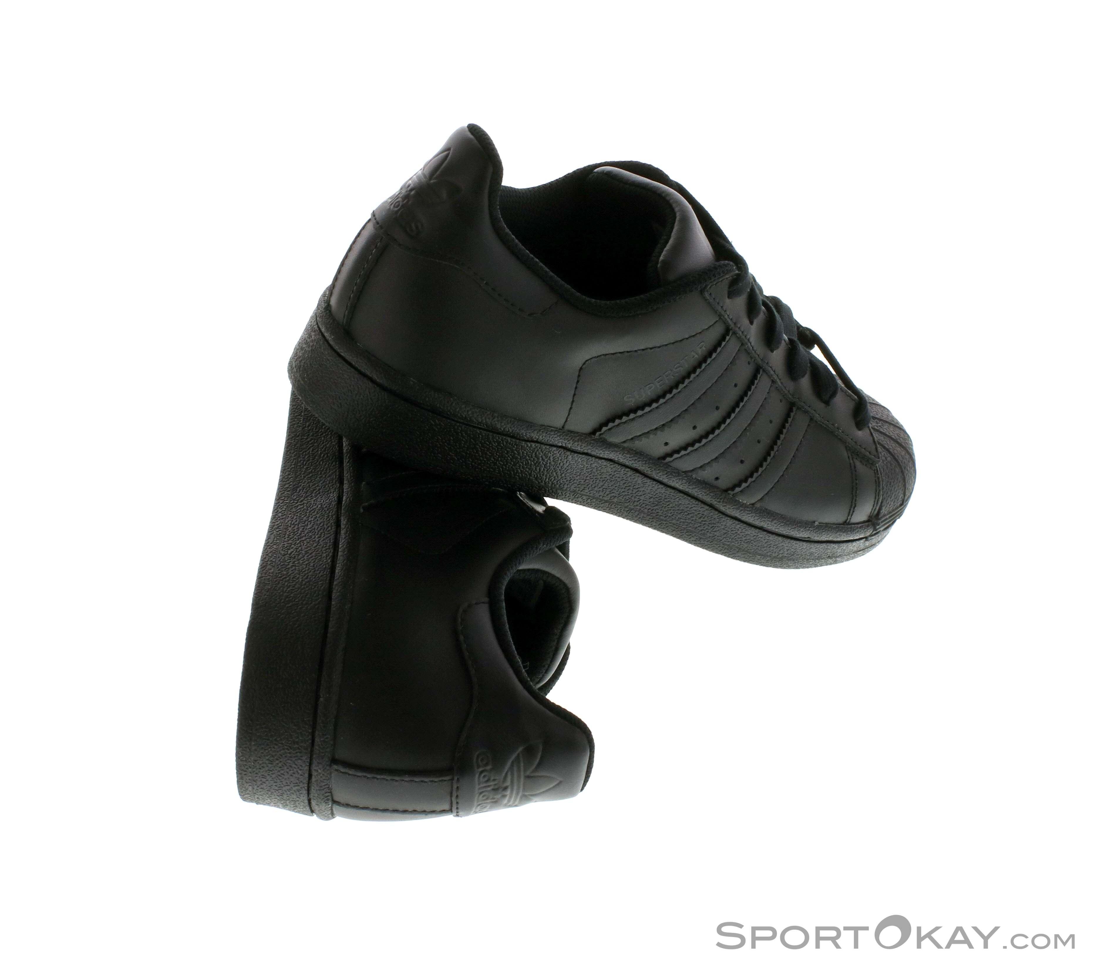 cheap for discount 89a9e dae6d adidas Superstar Foundation Uomo Scarpe per il Tempo Libero, adidas, Nero,  , Uomo