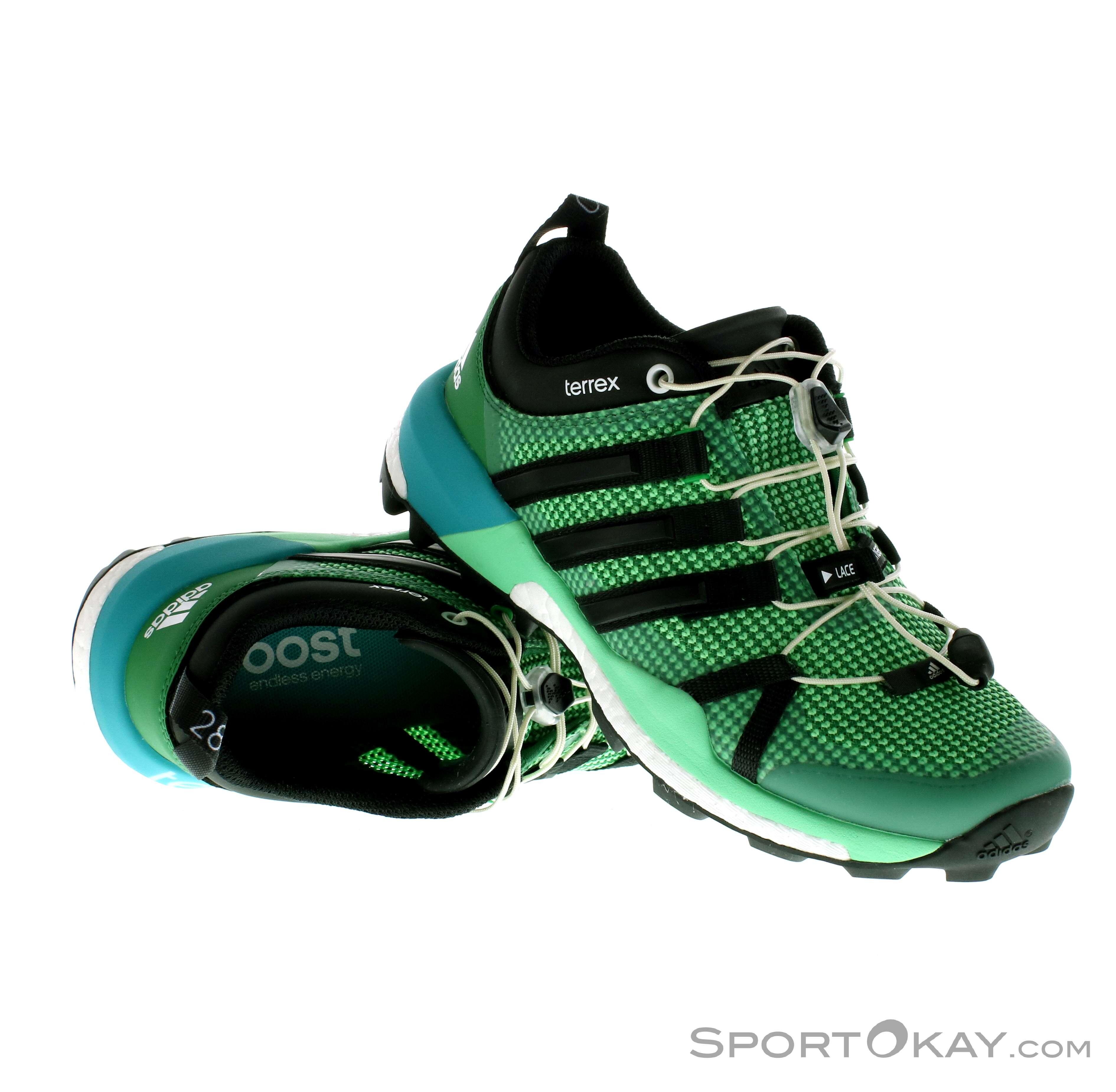 adidas Terrex Skychaser Donna Scarpe da Trail Running, adidas, Verde, , Donna,