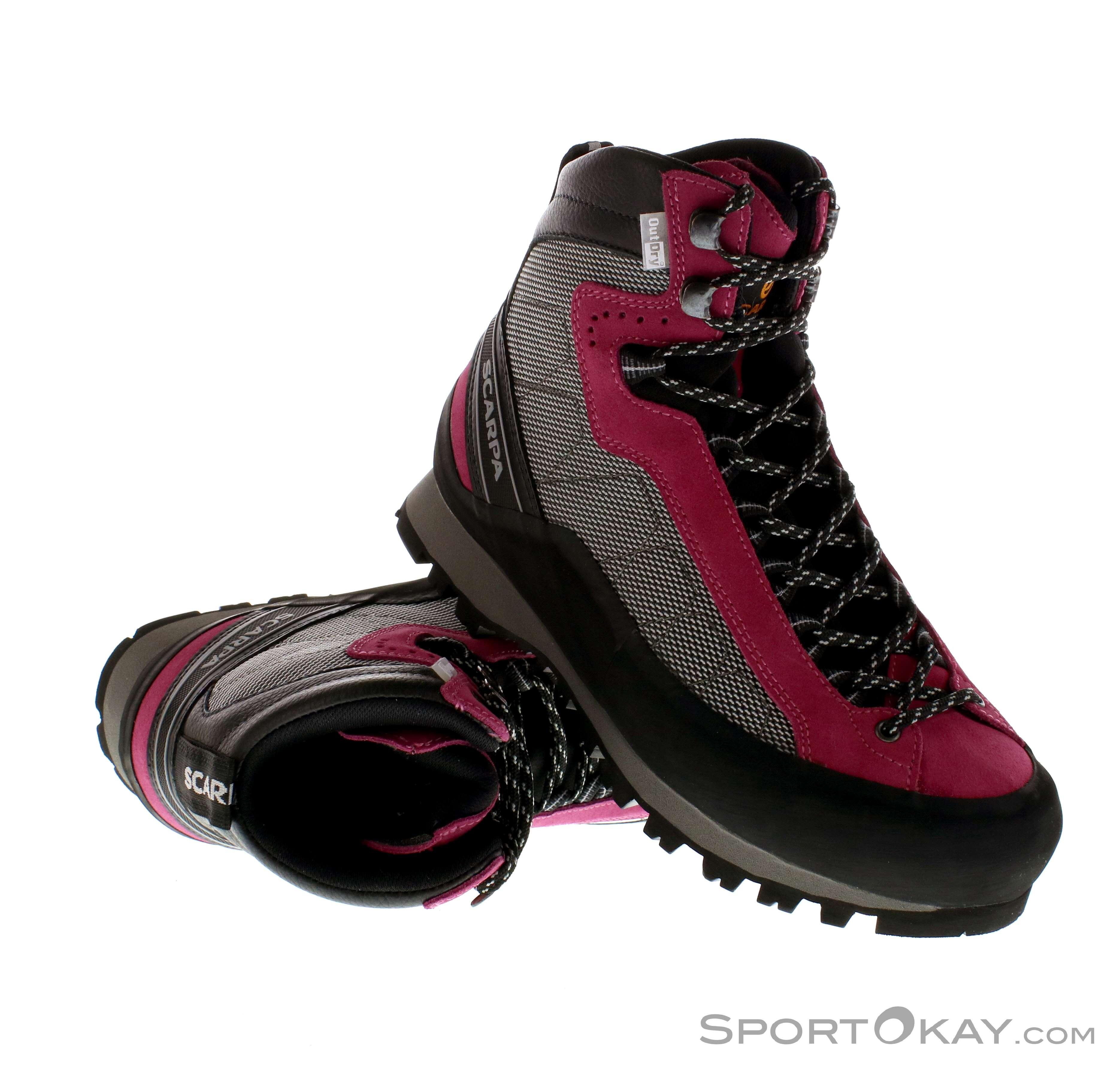 Scarpa Marmolada Trek Damen Bergschuhe, Scarpa, Pink-Rosa, , Damen, 0028-10064, 5637486825, 8025228688306, N1-01.jpg