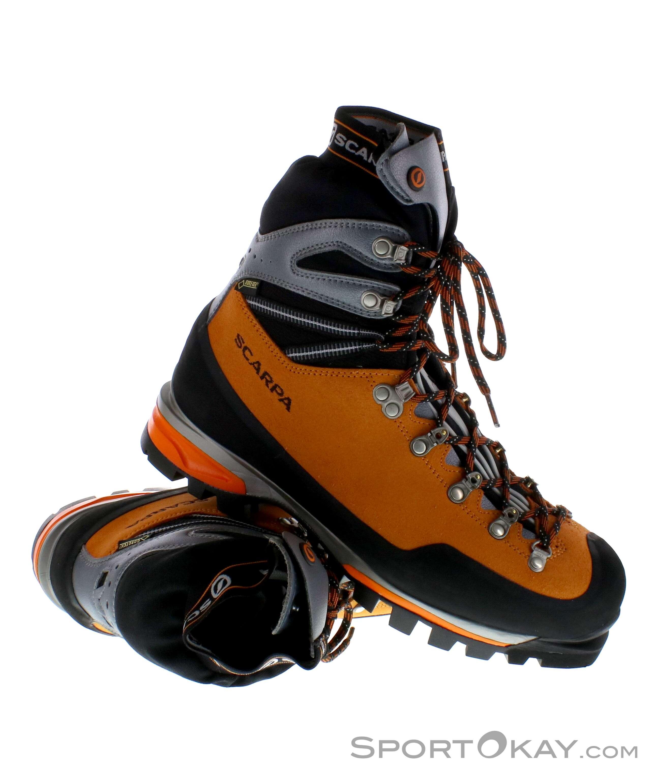 Scarpa Mont Blanc Pro GTX Herren Bergschuhe Gore-Tex, Scarpa, Orange, , Herren, 0028-10077, 5637486916, 8025228610628, N1-01.jpg