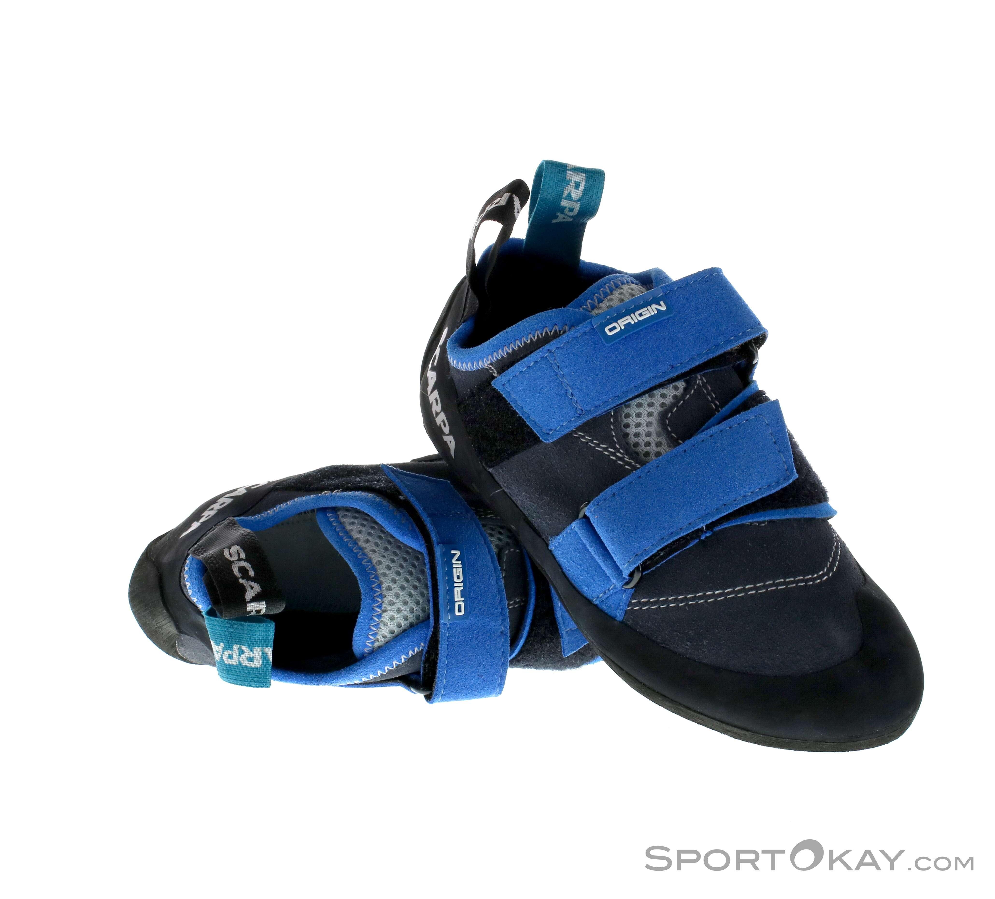 Scarpa Origin Herren Kletterschuh Herren grau Kletterschuhe Bouldern  Schuhe