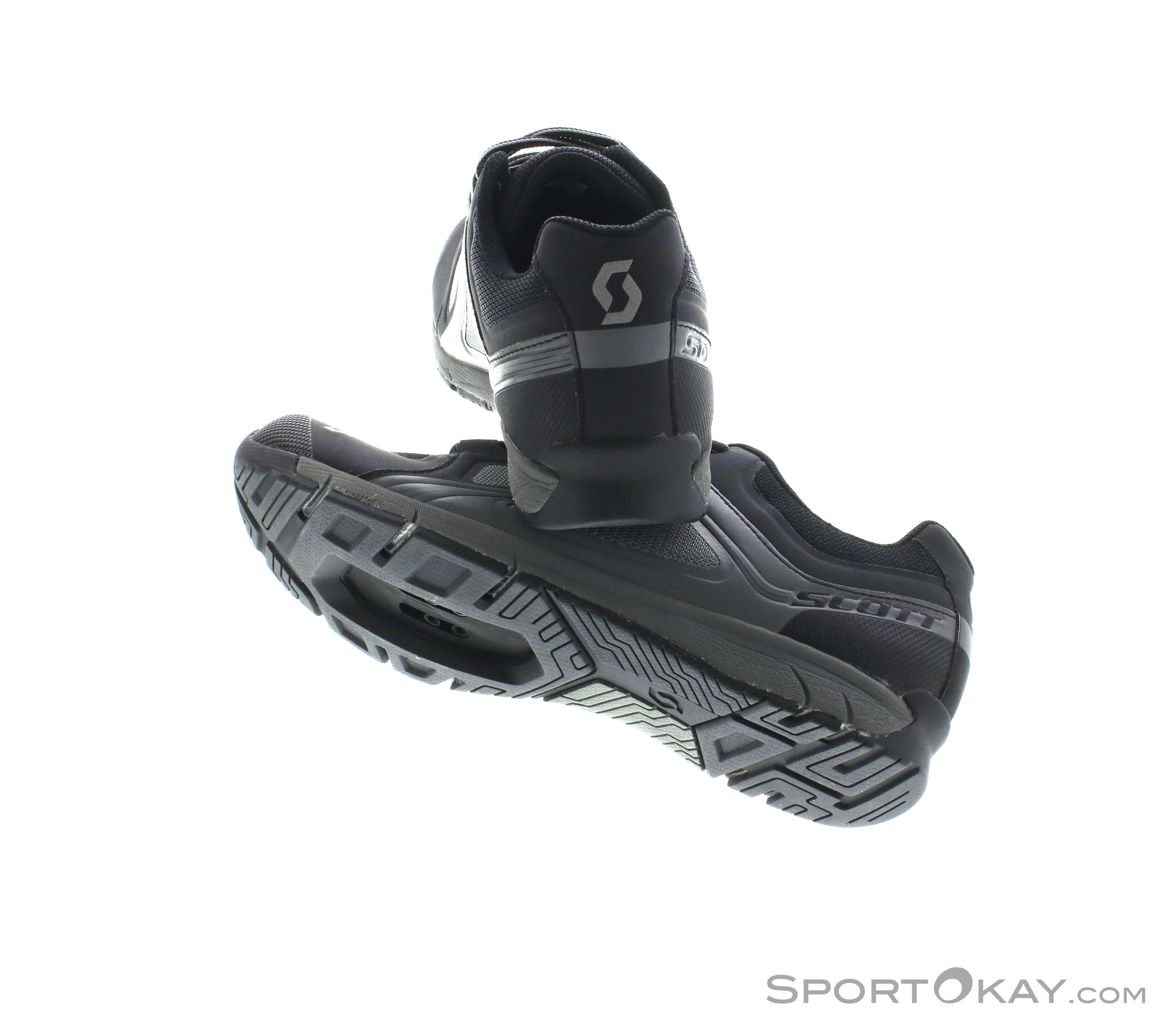 Black Scott Metrix SPD Cycling Shoes
