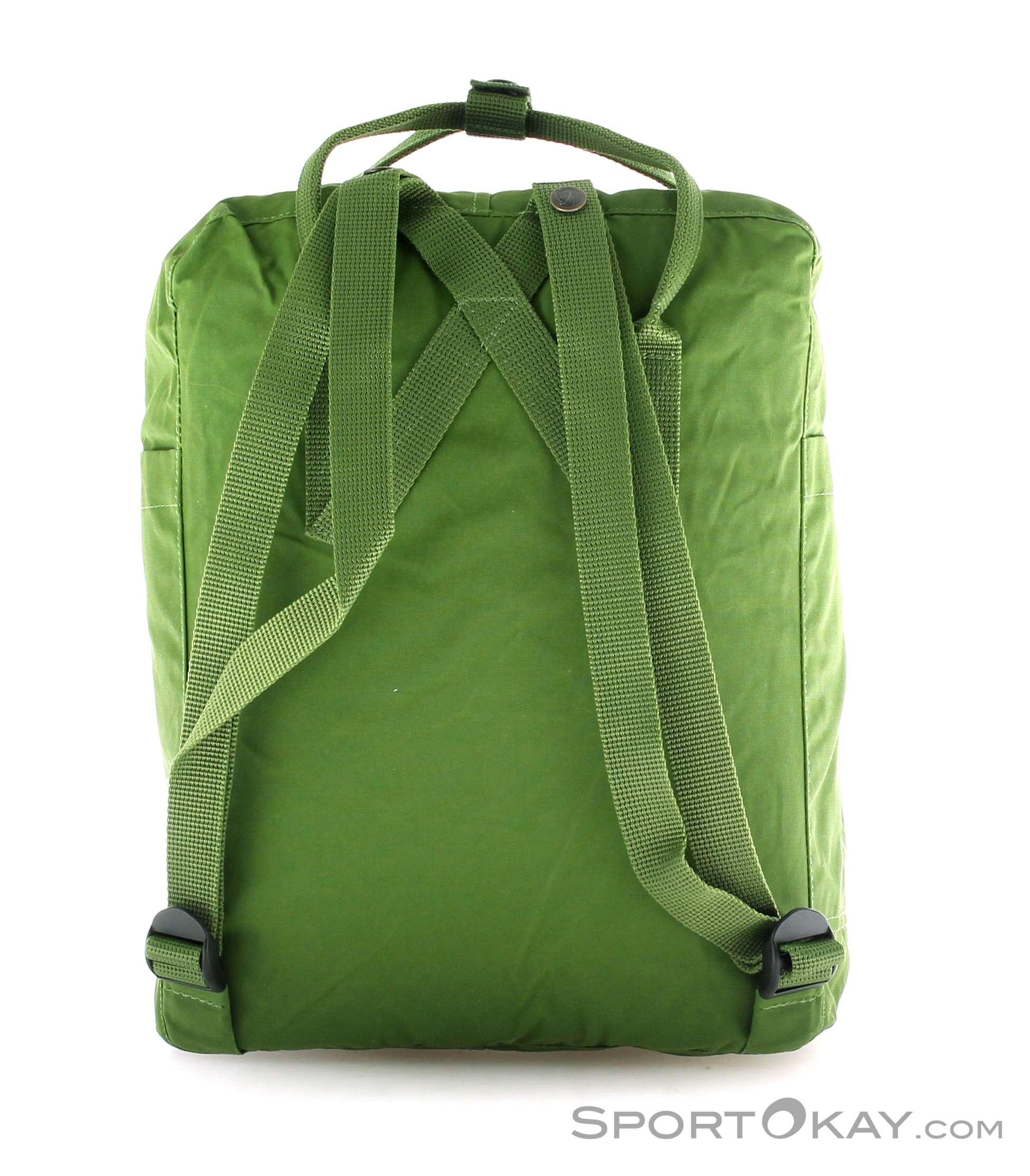 Fjllrven Kanken 16l Backpack Bags Leisure Fashion All Fjallraven Classic Ocean Green Olive Dark Male 0211