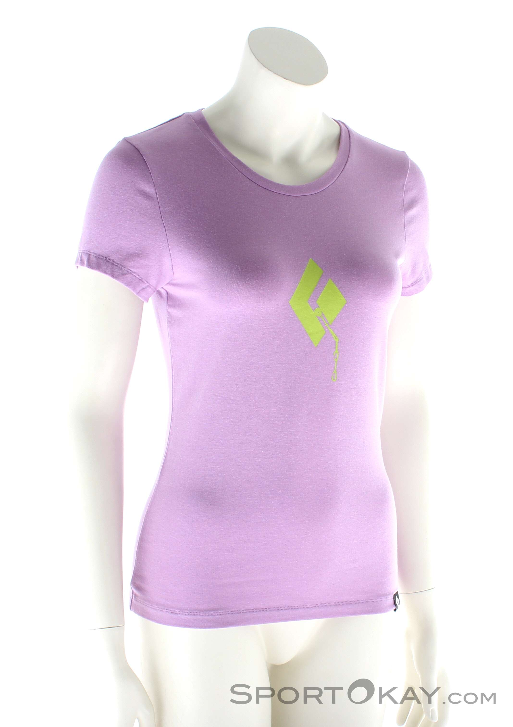 Black Diamond Placement SS Damen T-Shirt, Black Diamond, Lila, , Damen, 0056-10421, 5637497481, 793661292609, N1-01.jpg