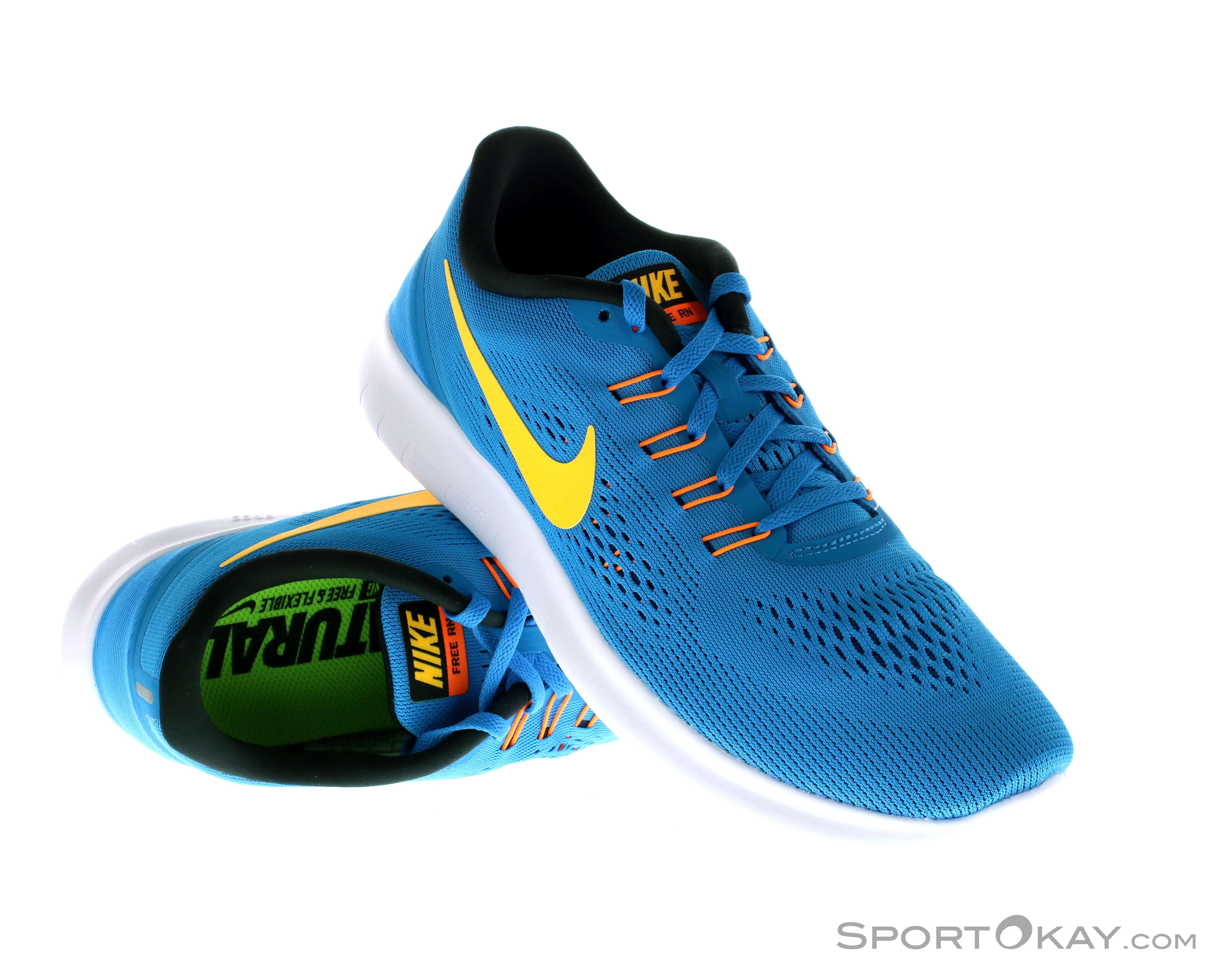 new arrivals ff24d 73186 Nike Free RN Uomo Scarpe da Corsa Allround , Nike, Giallo, , Uomo,
