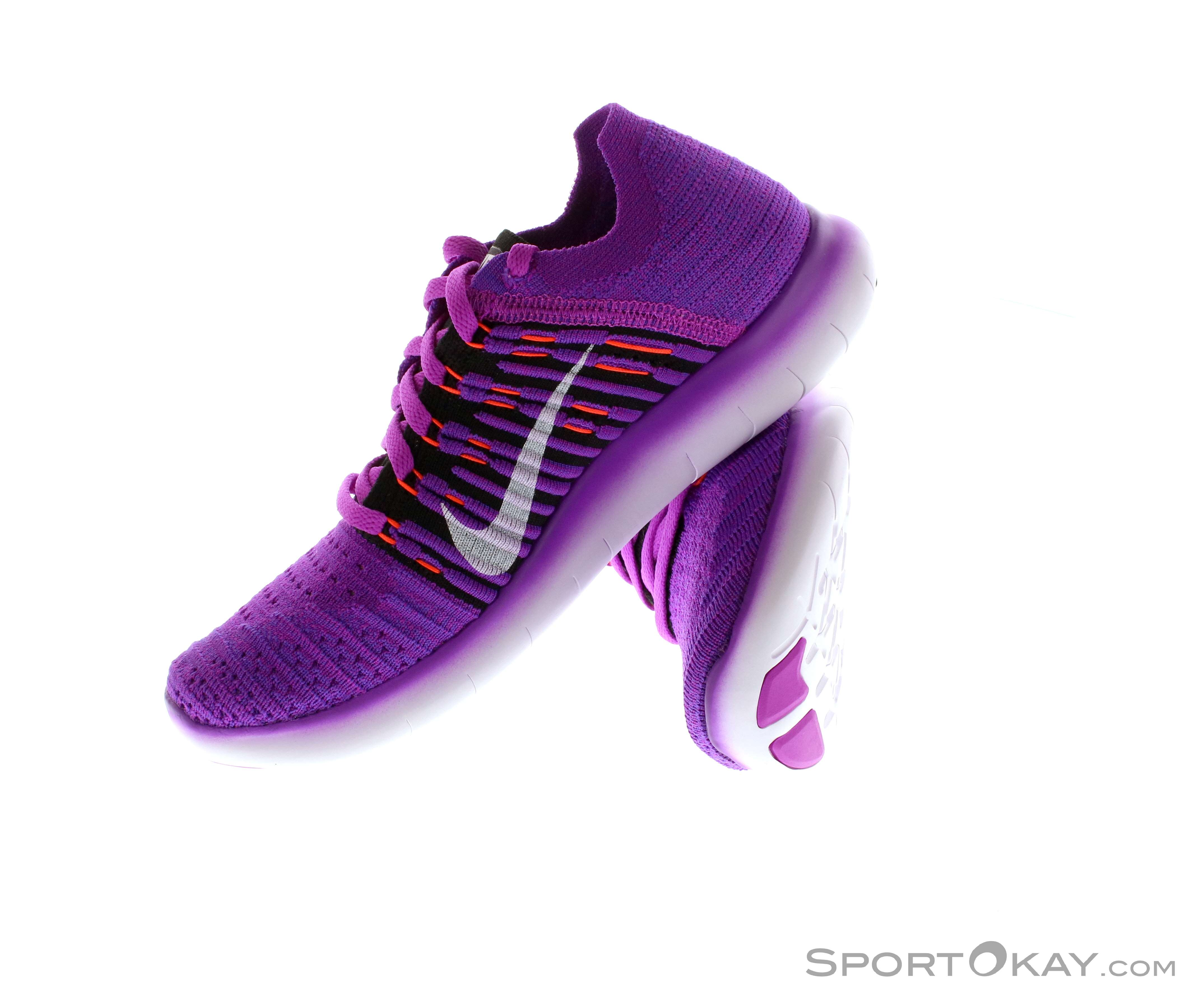 4eae8e4cc9d Nike Nike Free RN Flyknit Womens All-Round Running Shoes