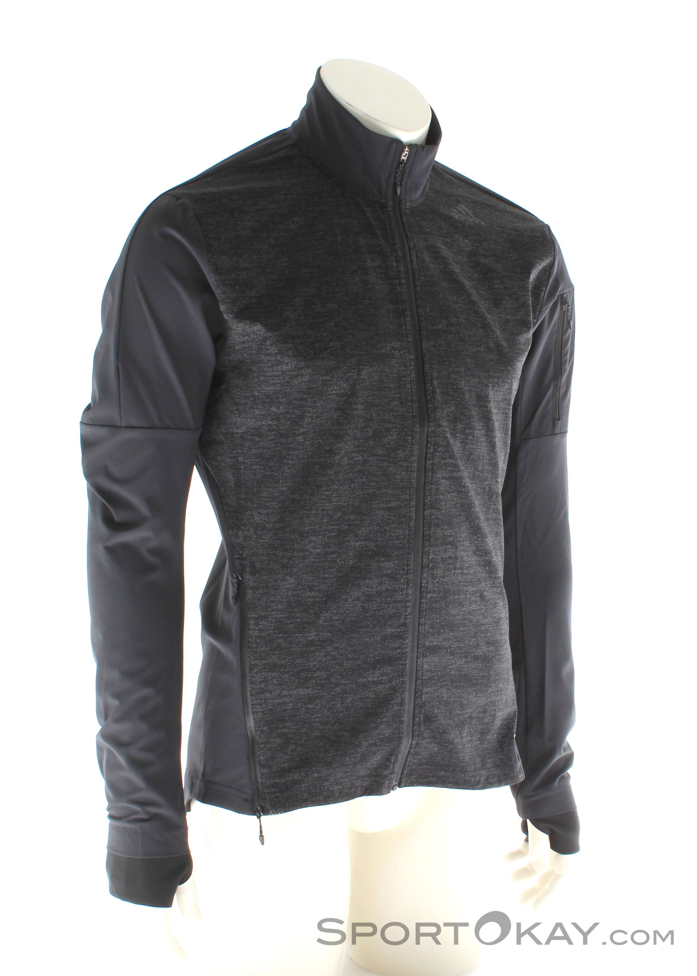 69ce7f34d402 adidas Supernova Storm Jacket Mens Running Jacket, adidas, Black, , Male,  0002