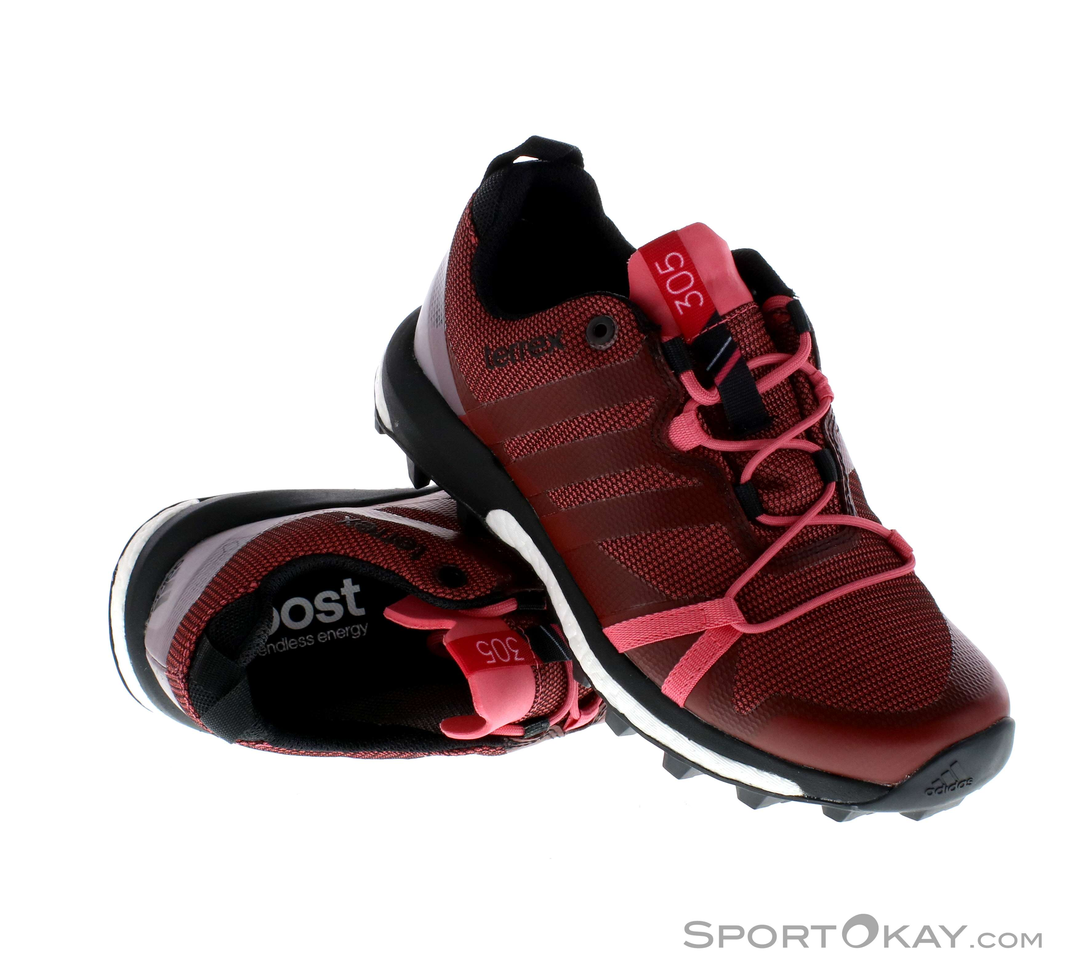 best authentic 839d6 363aa adidas Terrex Agravic GTX Ws Trail Running Shoes Gore-Tex, adidas, Red,