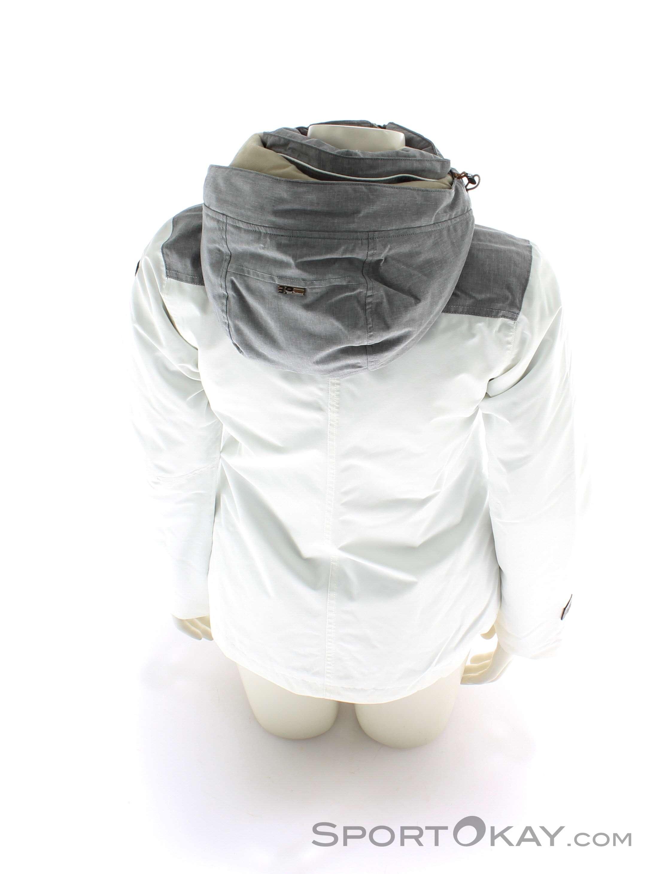 Icepeak Leira Damen Softshell Funktions Mantel abnehmbare Kapuze leicht taillier