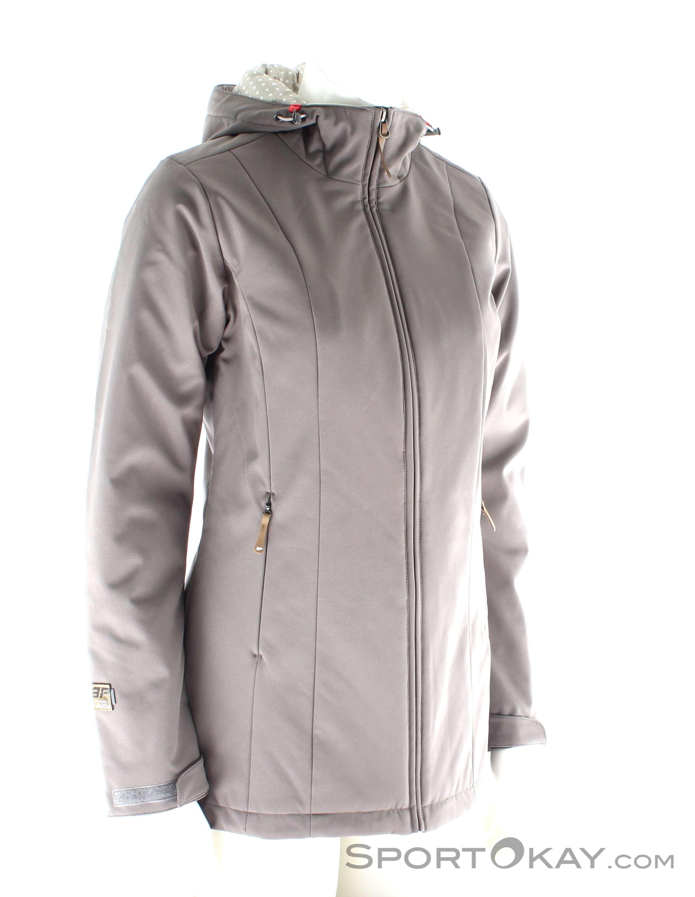 Icepeak Teri Jacket Damen Outdoorjacke, Icepeak, Braun, , Damen, 0041-10184, 5637506332, 6438370014428, N1-01.jpg