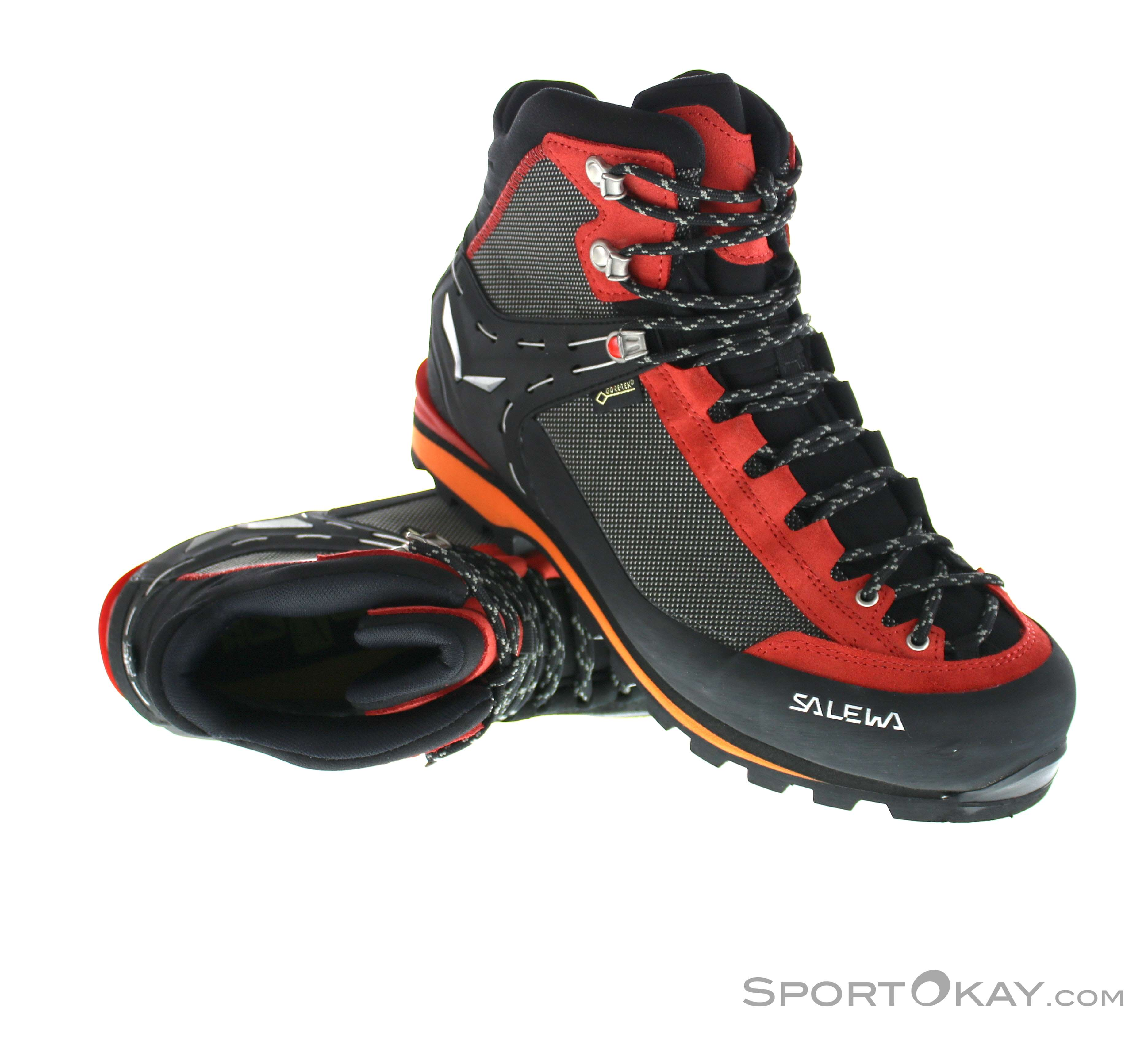 Salewa Crow GTX Mens Mountaineering Boots Gore-Tex - Mountaineering ... 81fd0495541