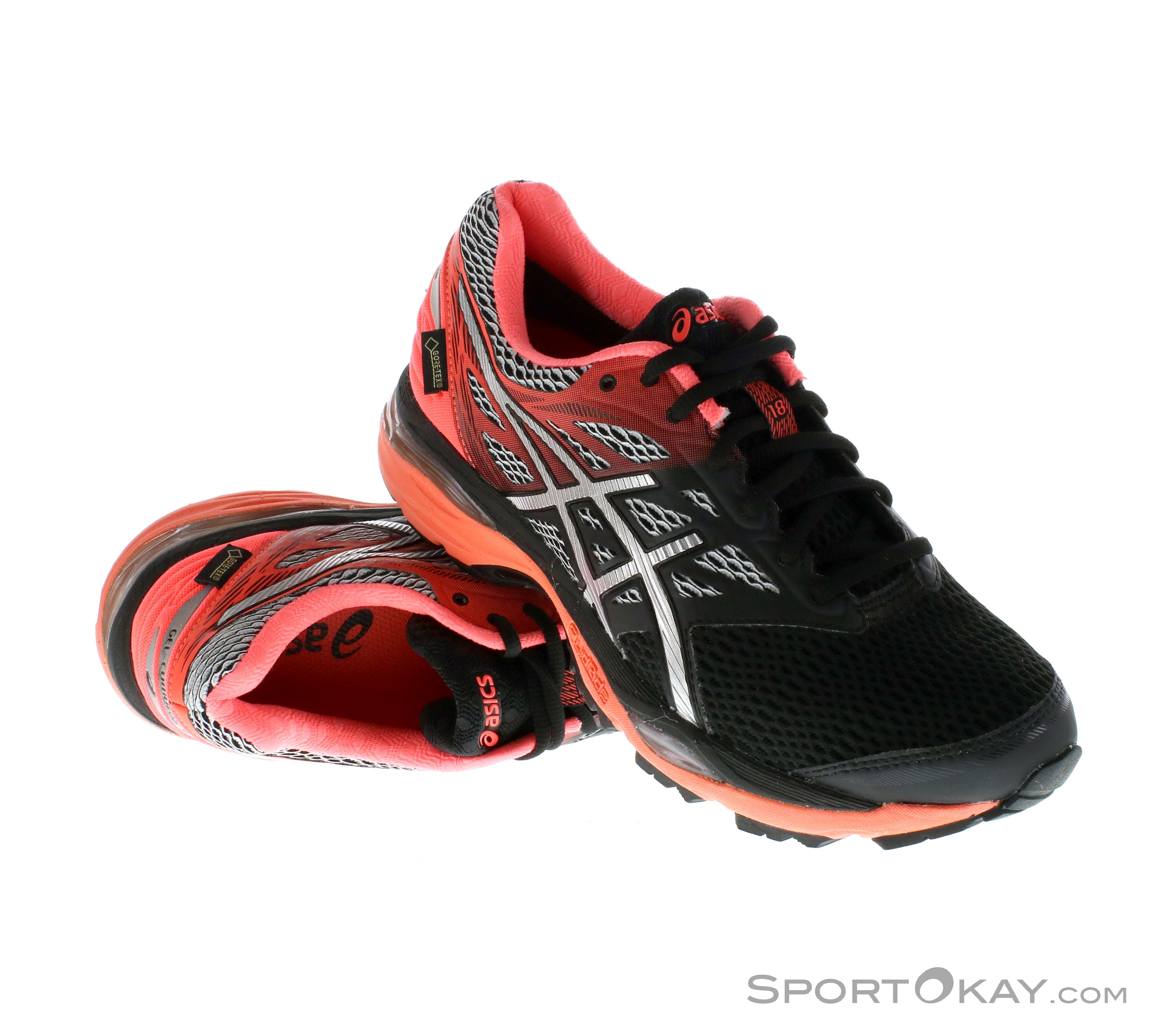 huge discount 855e8 8f47a Asics Asics Gel Cumulus 18 G-TX Womens Running Shoes Gore-Tex