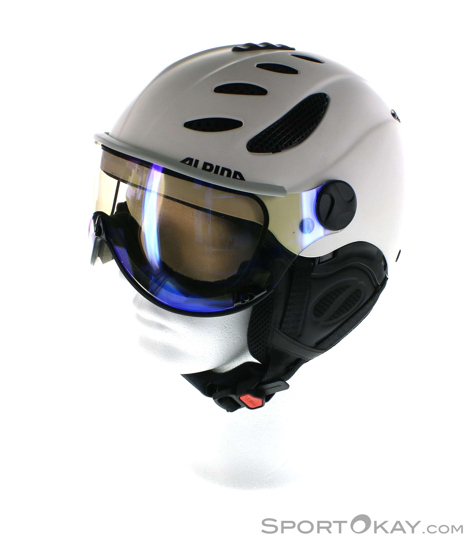 Alpina Jump JV VHM Ski Helmet Ski Helmets Ski Helmets - Alpina helmets