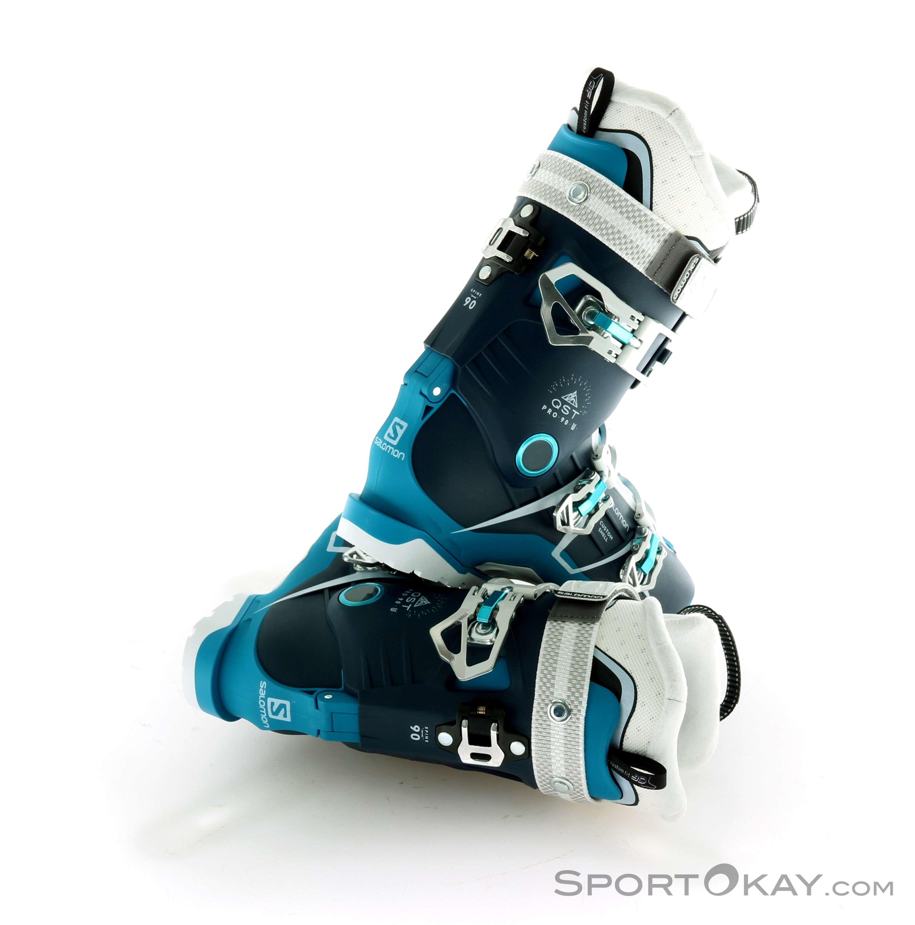 W Womens 90 Salomon Pro Qst Ski Boots W2EHD9I