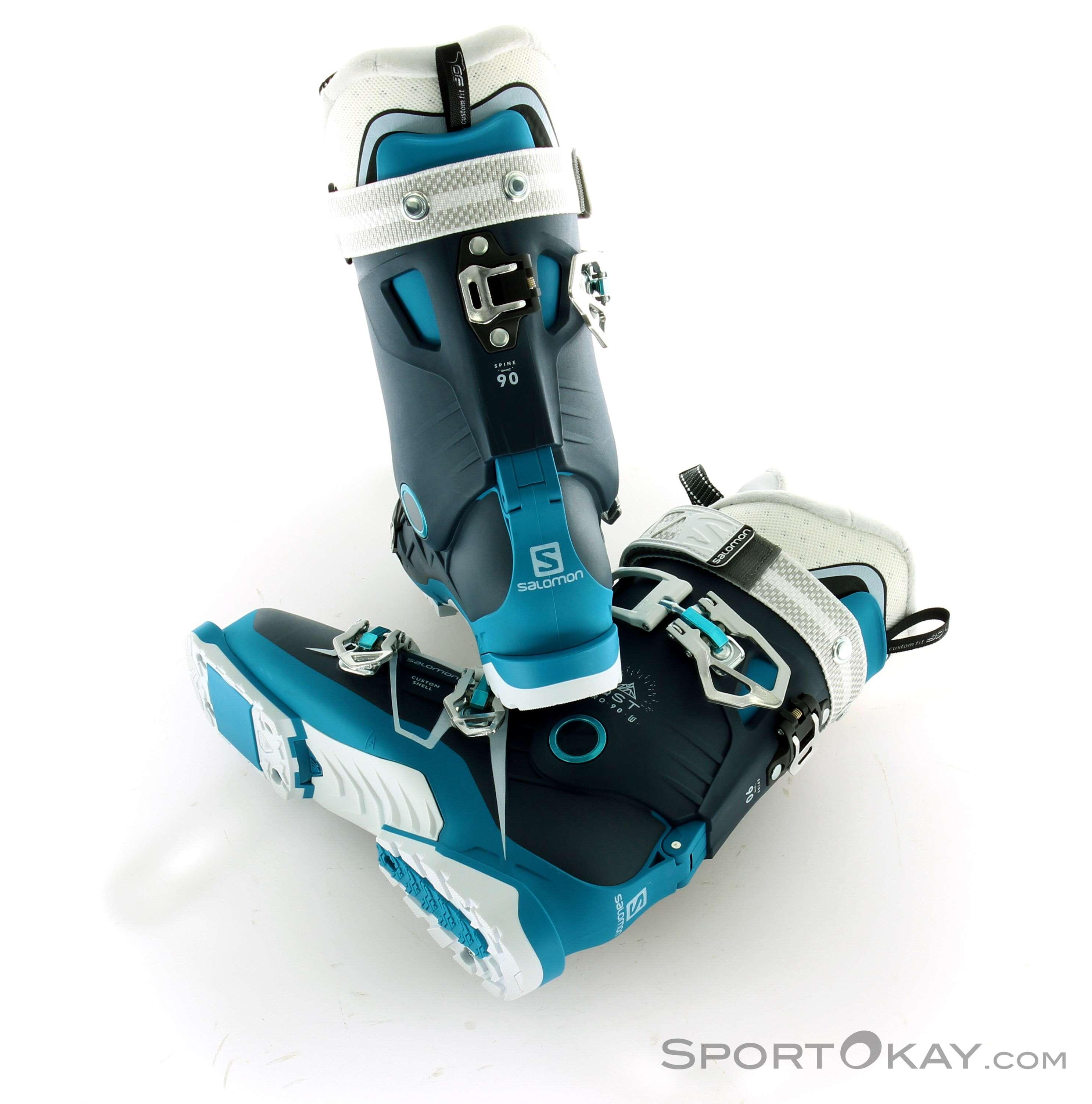 W Ski 90 Qst Salomon Womens Pro Boots FKJuclT13