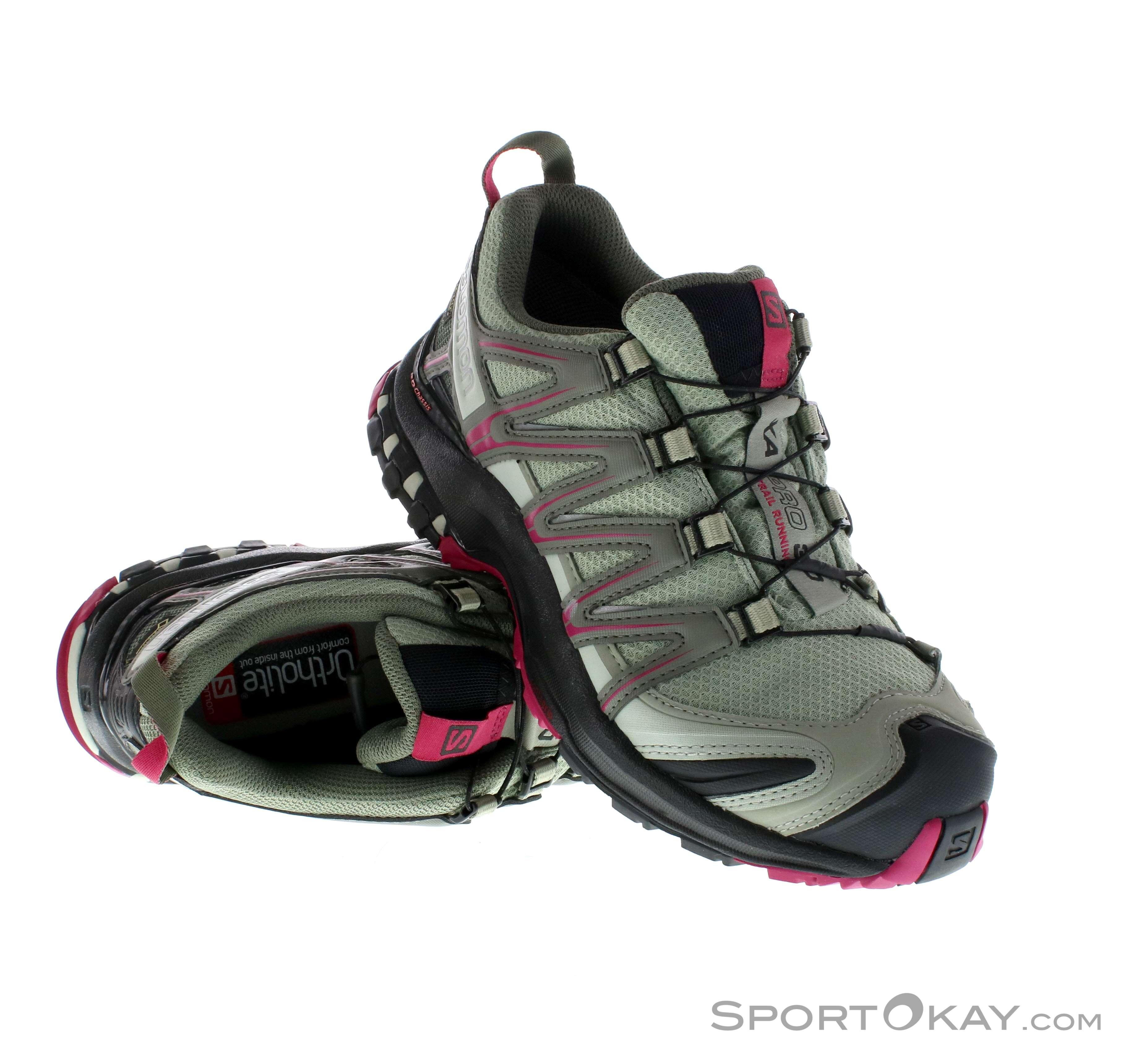 nuovo di zecca 8e522 7851e Salomon Salomon XA Pro 3D Womens Scarpe da Trail Running Gore-Tex