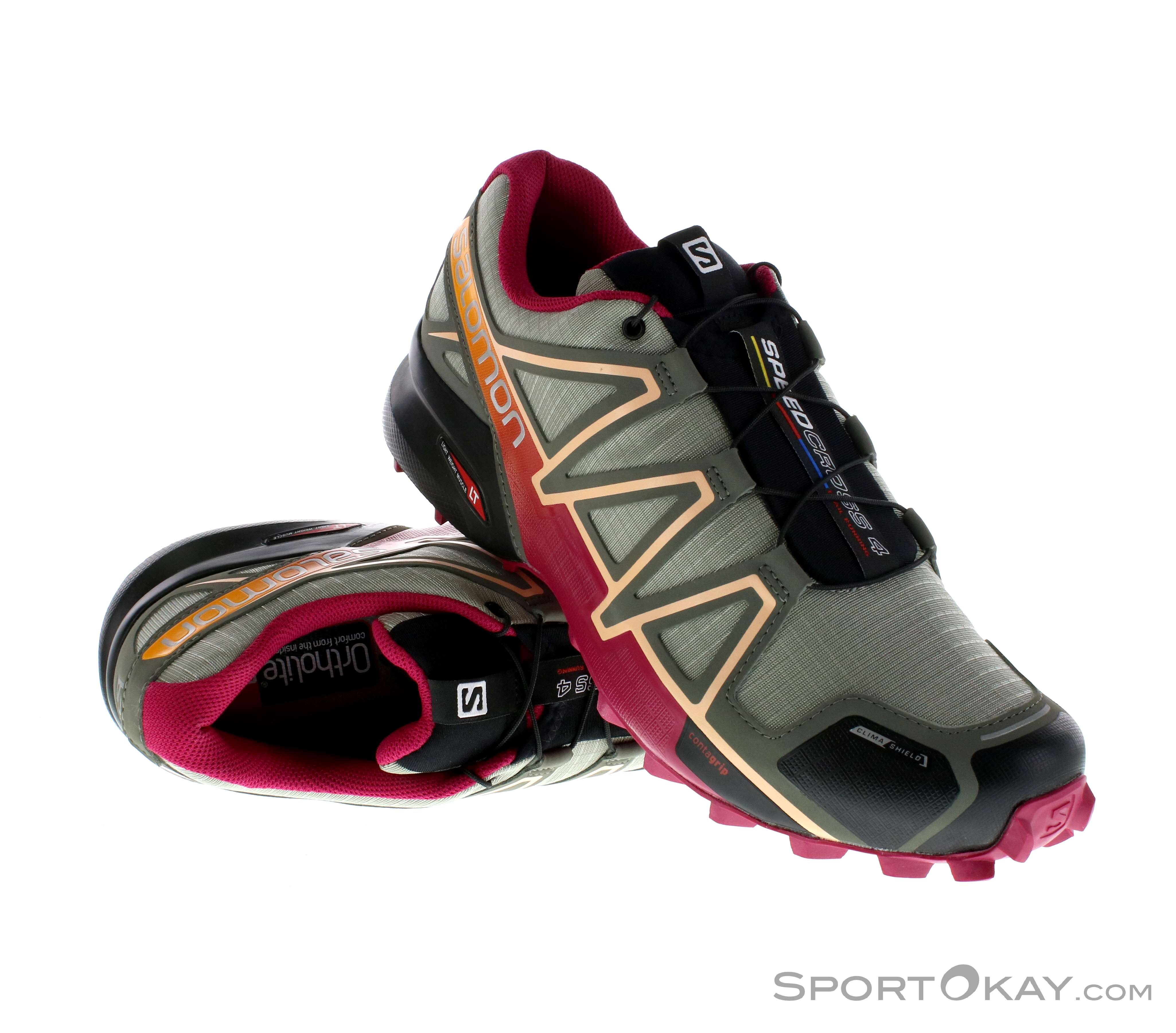 56% Discount Salomon Speedcross 4 GTX Women Trail Laufschuhe