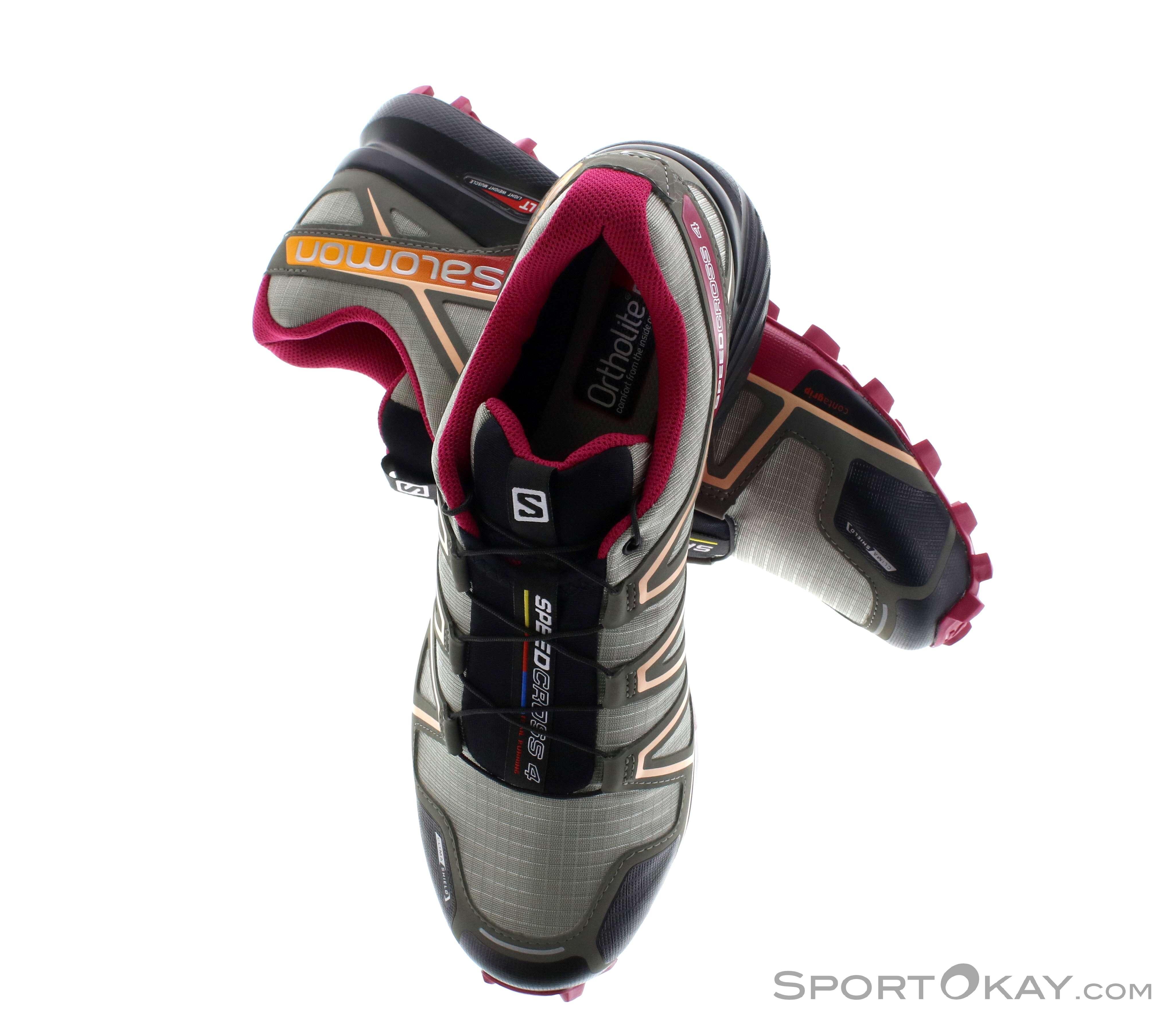 nouveau produit 9bf55 a536c Salomon Salomon Speedcross 4 CS Womens Trail Running Shoes