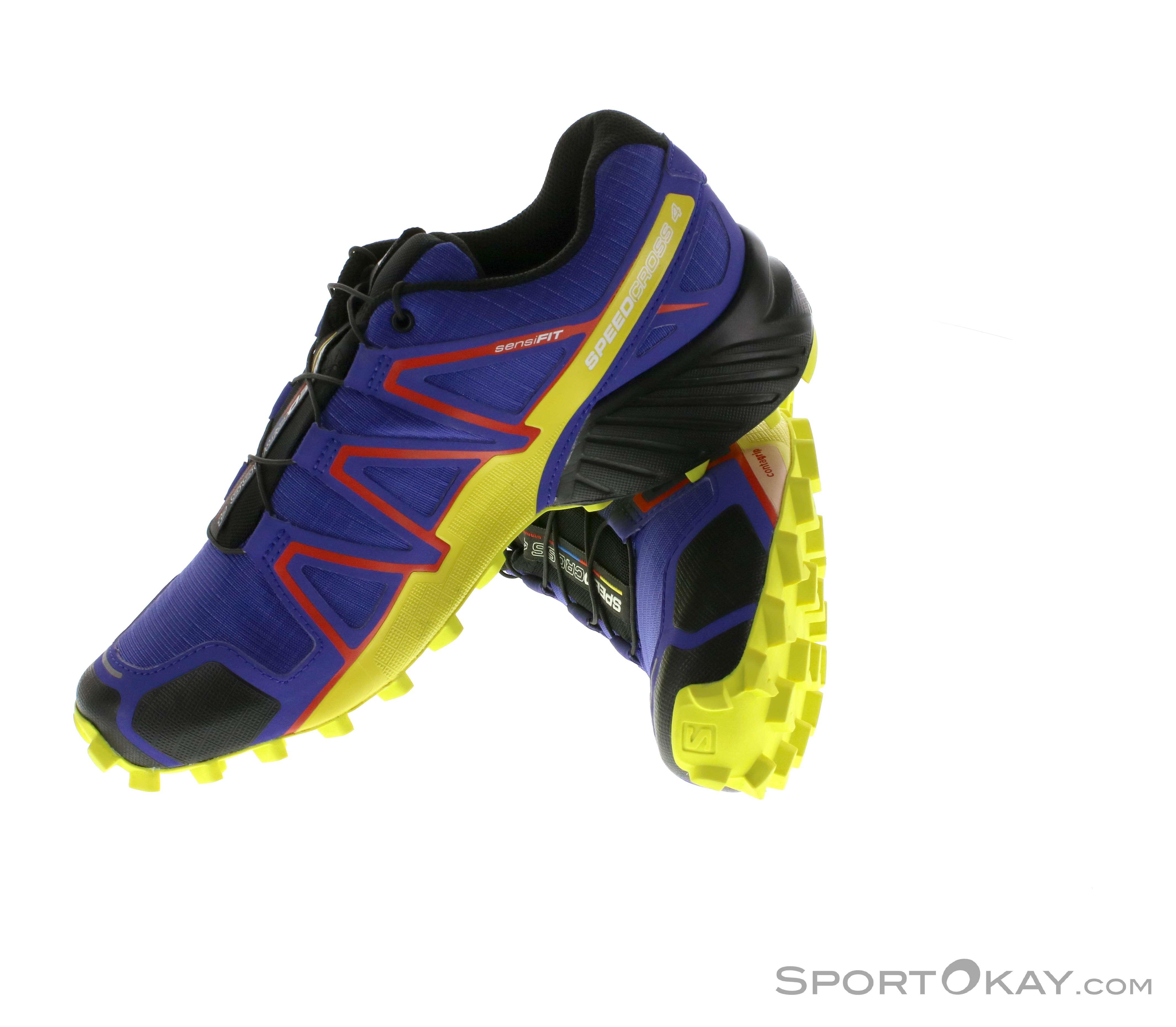 Salomon Speedcross 4 Womens Trail Running Shoes - Trail Running ... bd222c5fe74