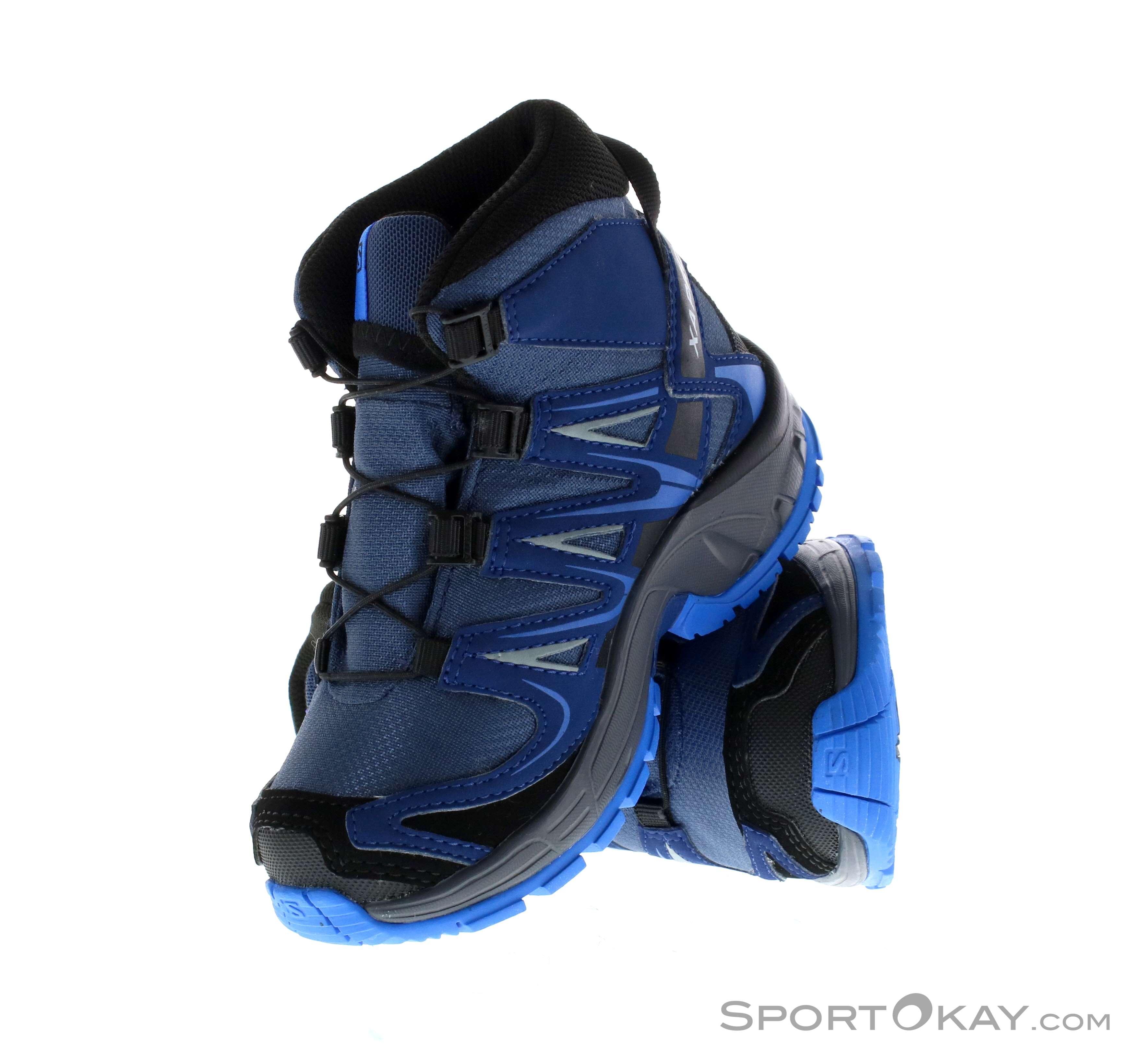 Salomon XA Pro 3D MID CSWP Kids Hiking Boots Trekking