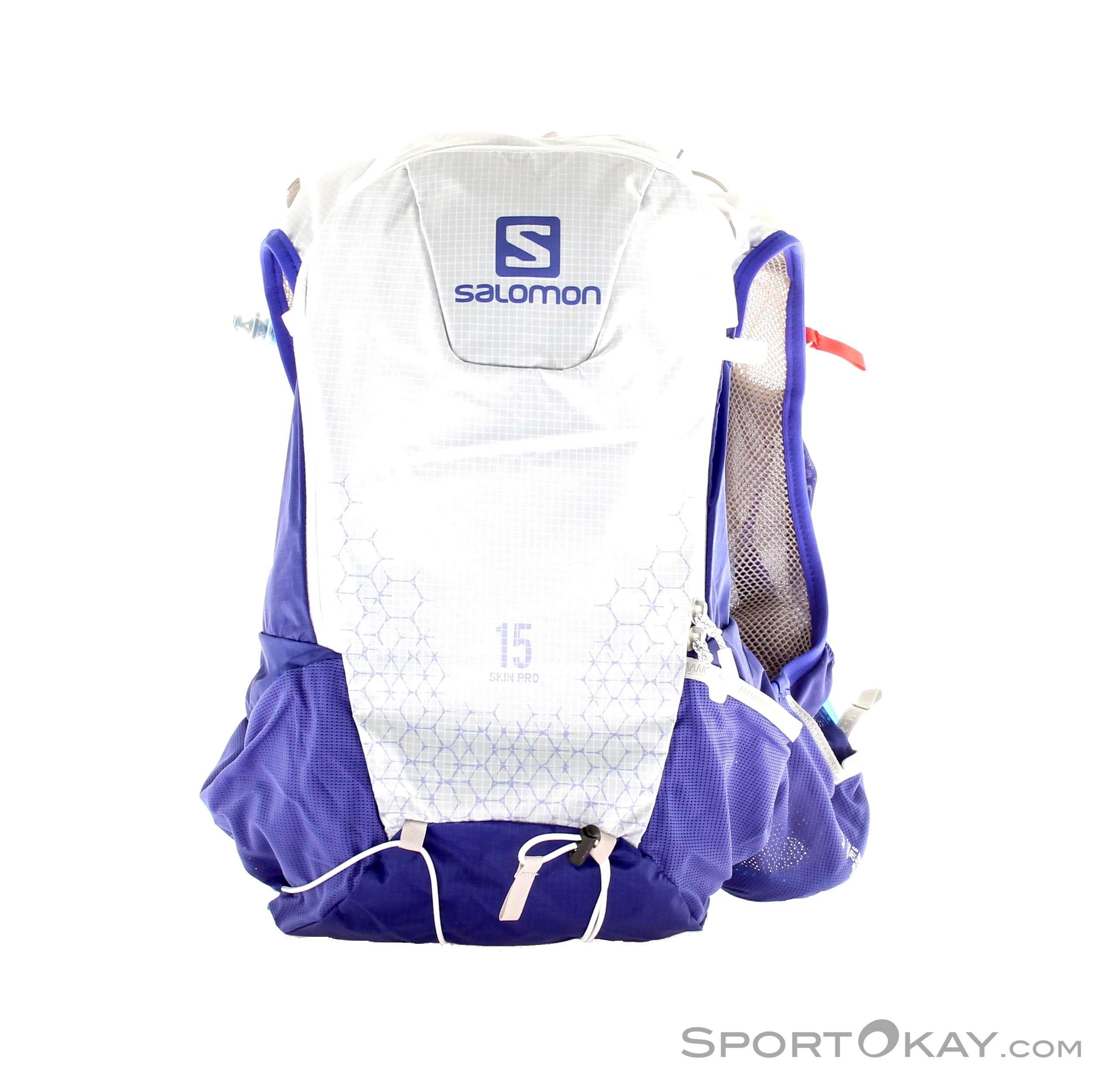 Salomon Skin Pro Set 15l Rucksack, Salomon, Blau, , Herren, 0018-10614, 5637523391, 889645256191, N1-01.jpg