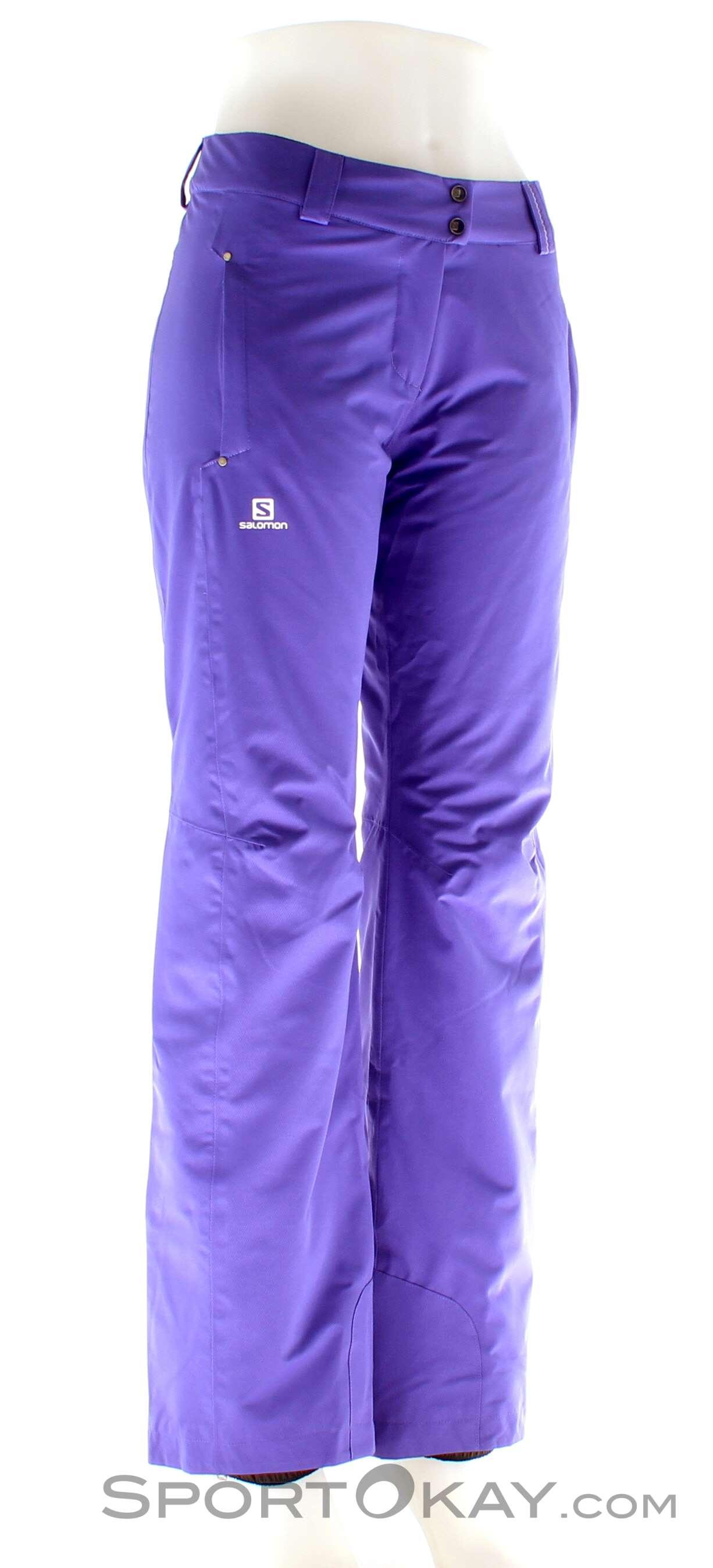 4c8eae619d1a Salomon Stormspotter Womens Ski Pants - Ski Pants - Ski Clothing ...