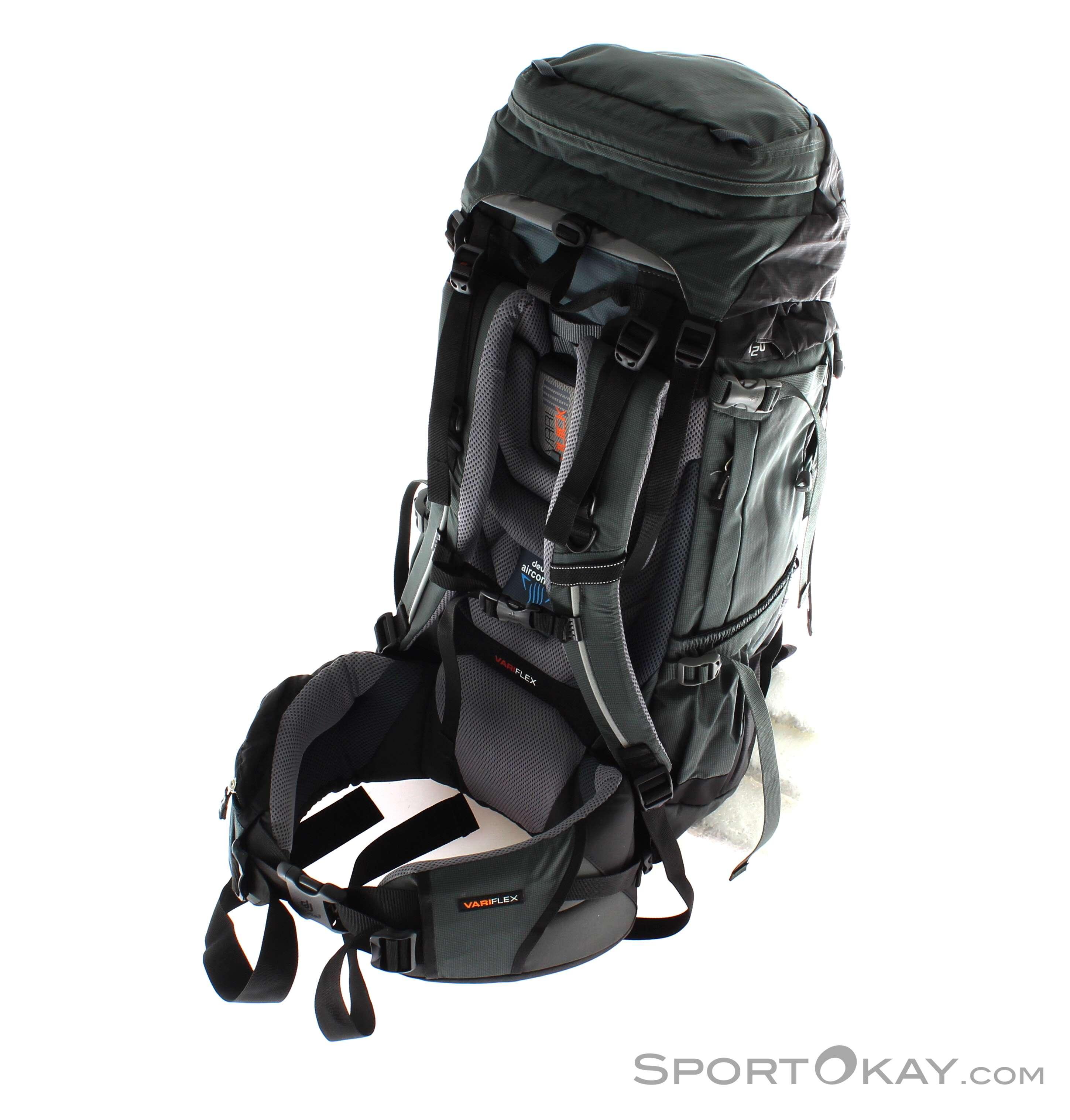 deuter aircontact 45 10l backpack backpacks backpacks headlamps outdoor all. Black Bedroom Furniture Sets. Home Design Ideas