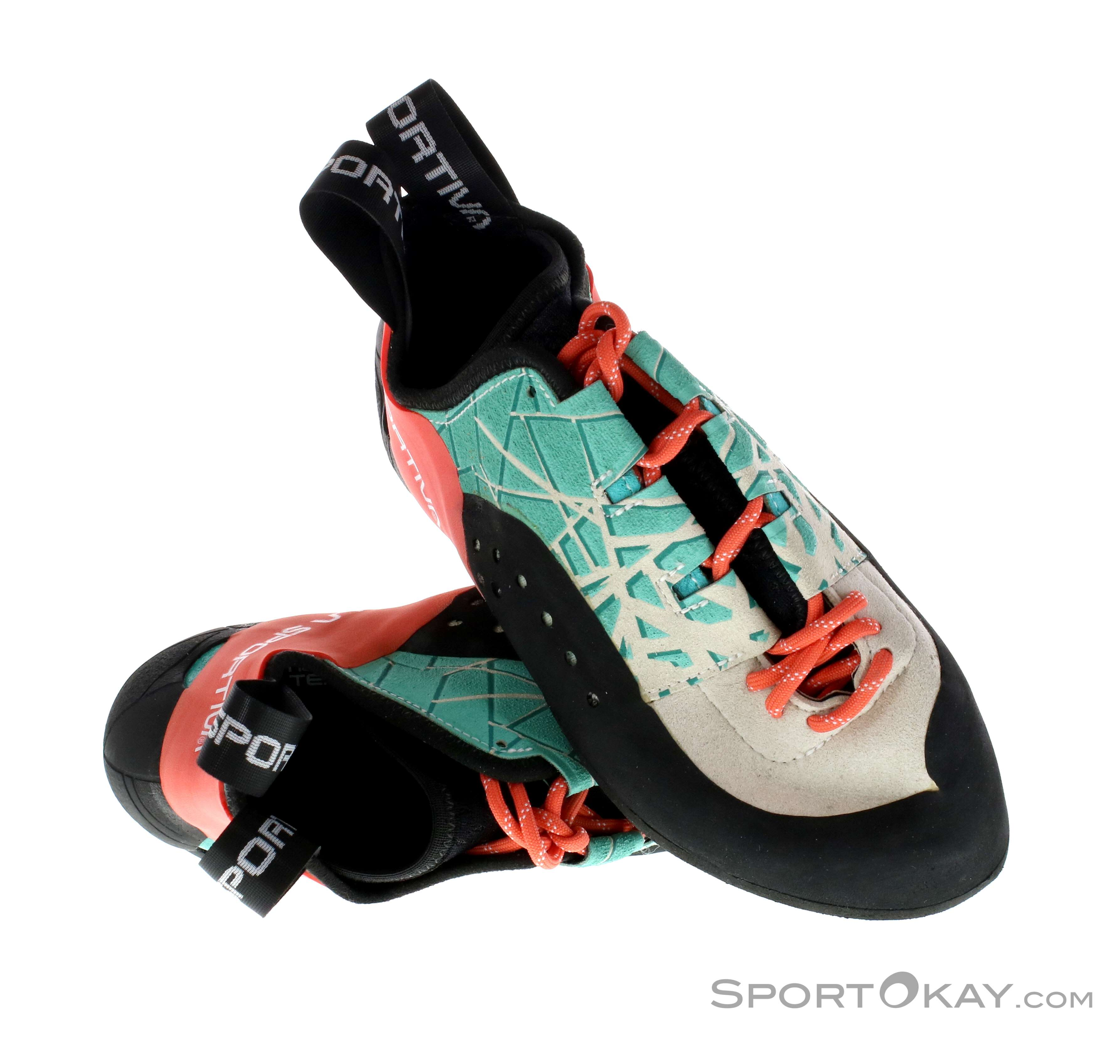 aaa90ab37cbc La Sportiva Kataki Womens Climbing Shoes - Lace-Up Shoes - Climbing ...