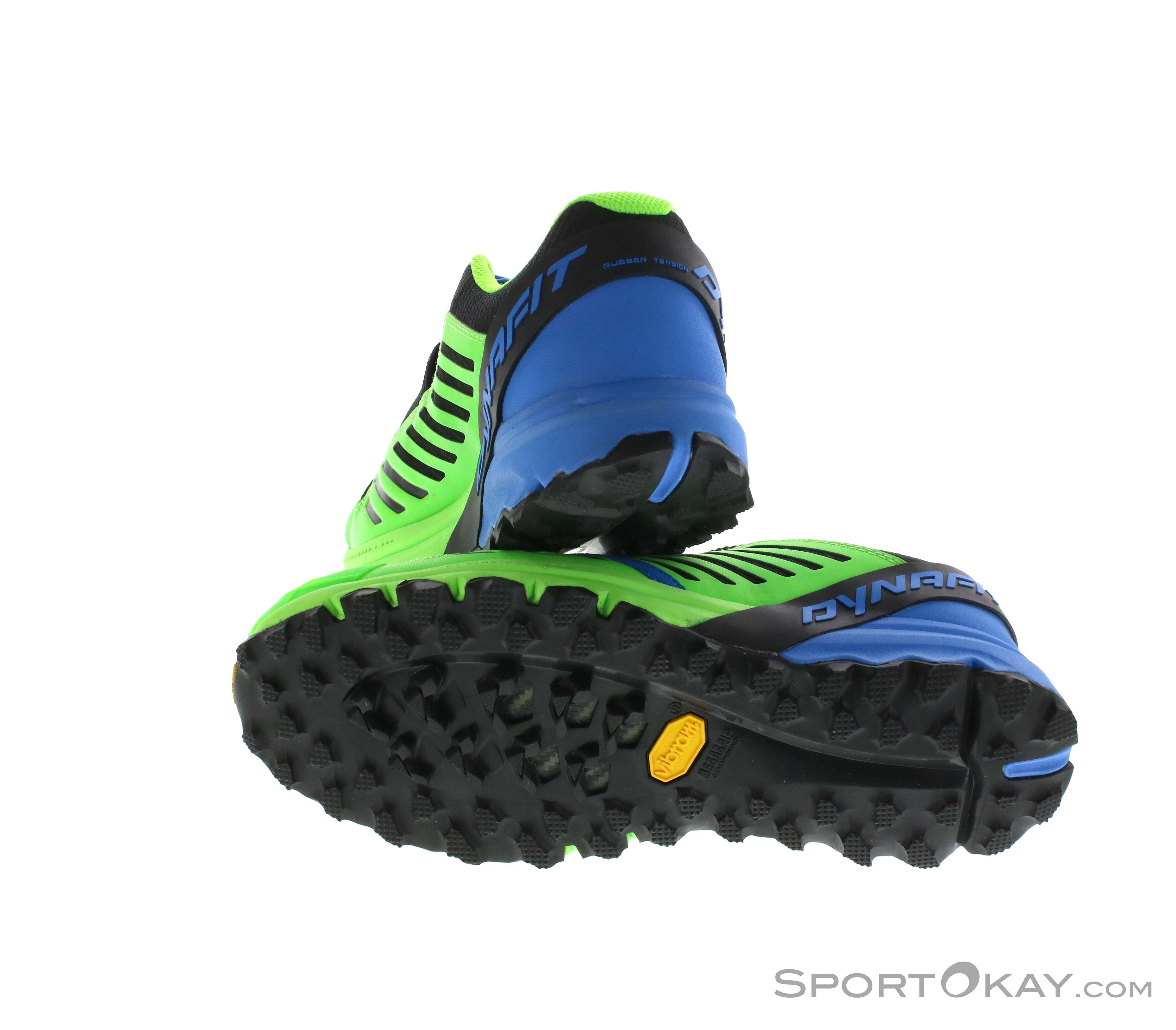 Dynafit Alpine Pro Mens Trail Running Shoes Tensimeter Digital Wristband Blue Male 0015