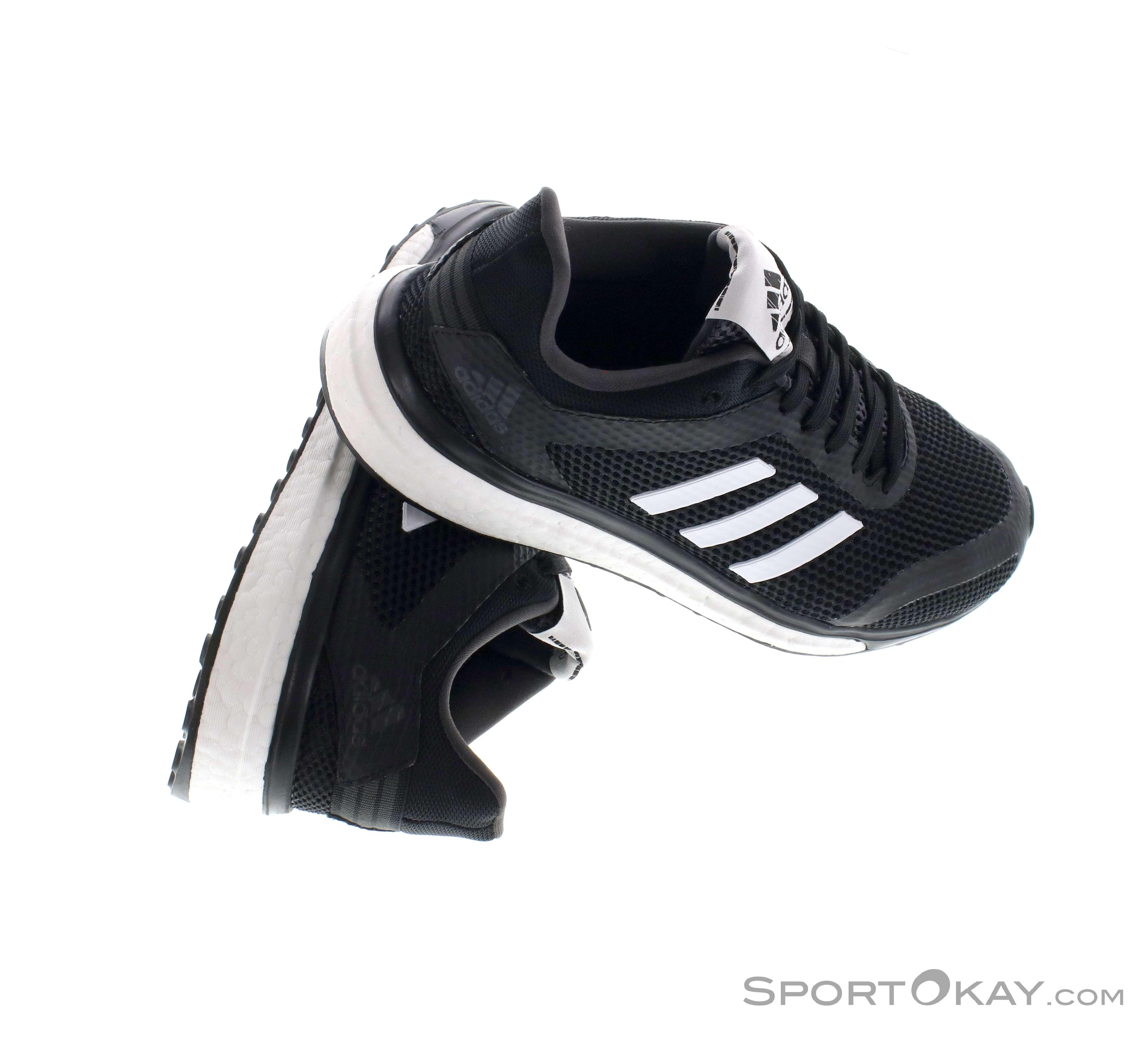 the best attitude 6e9a4 09aa5 adidas Response+M Womens Running Shoes , adidas, Black, , Female, 0002