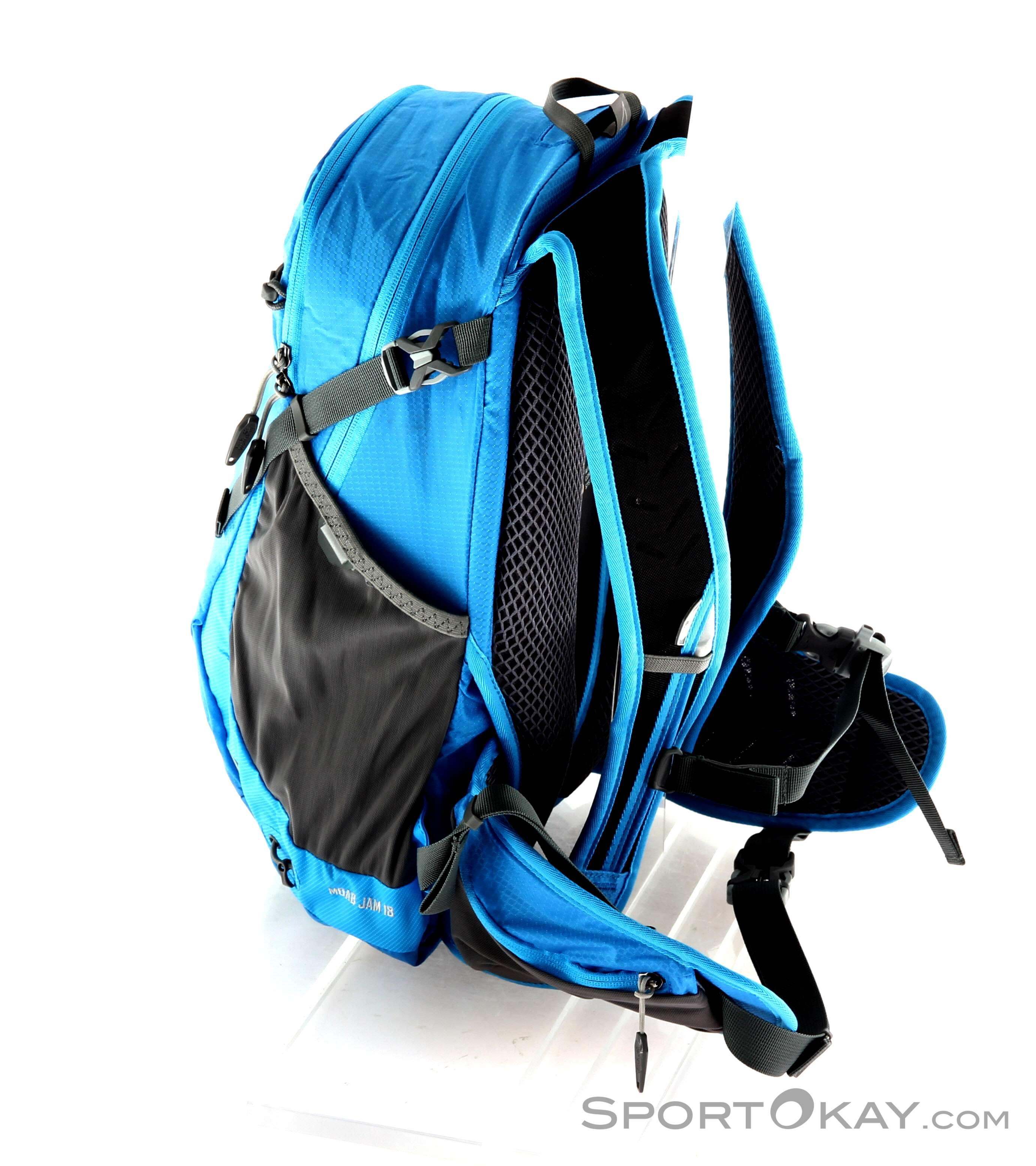 51f8aa624d0 Jack Wolfskin Moab Jam 18l Backpack, Jack Wolfskin, Blue, , Unisex, 0230