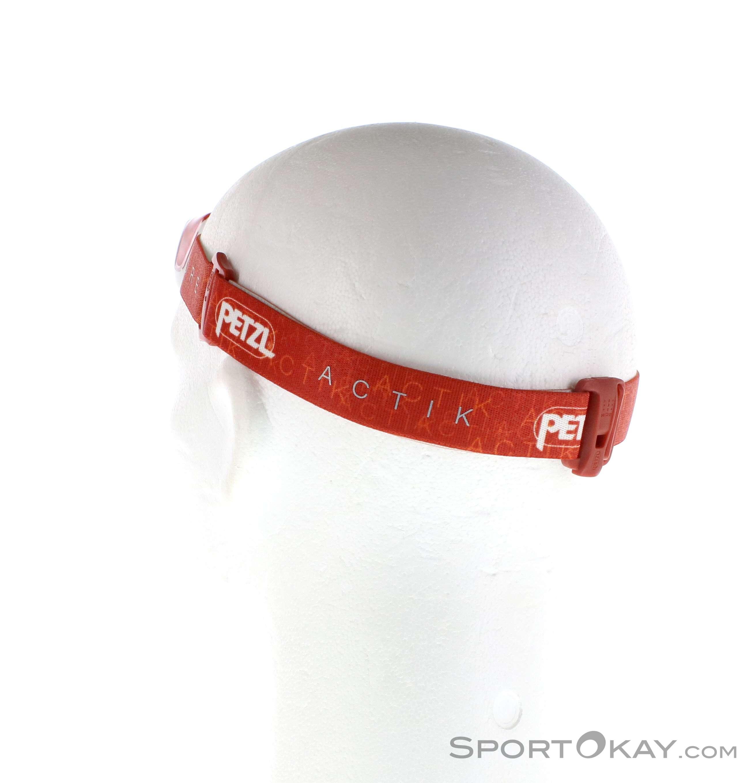 0074 Core Petzl Actik Rosso Da Torcia Testa 350lm Petzl 8R7T5qq