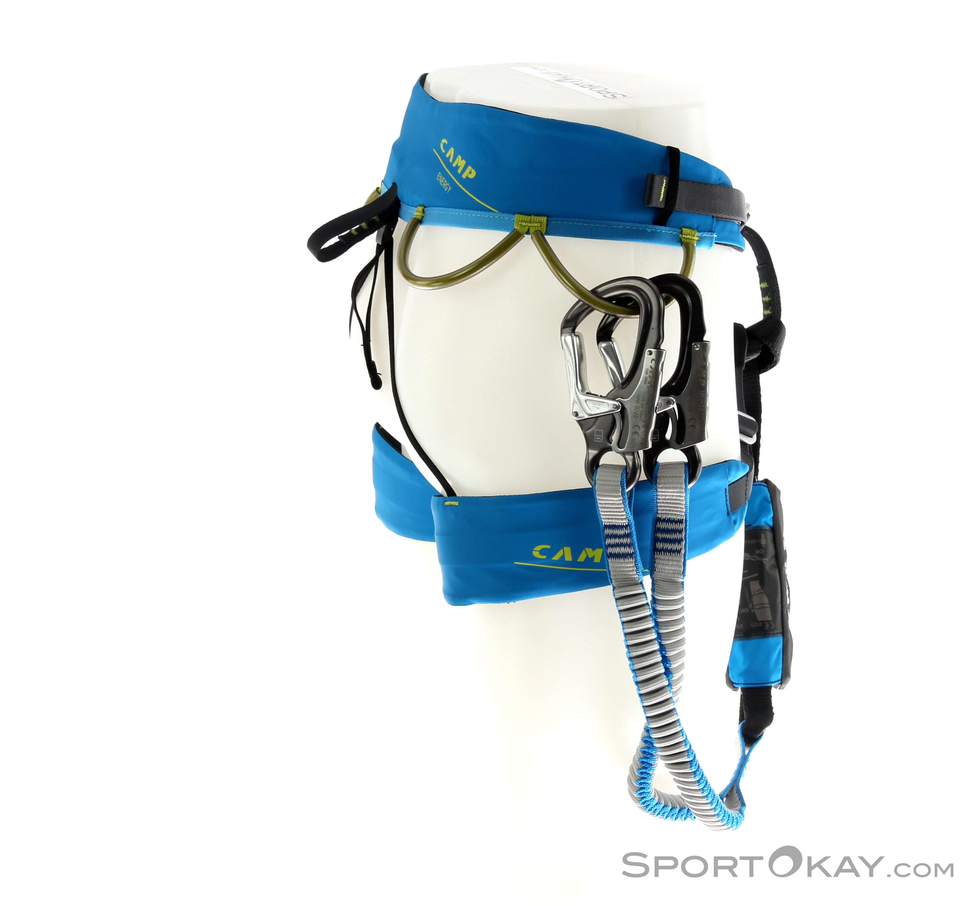 CAMP Kit Ferrata Kinetic Rewind Energy kit via ferrata