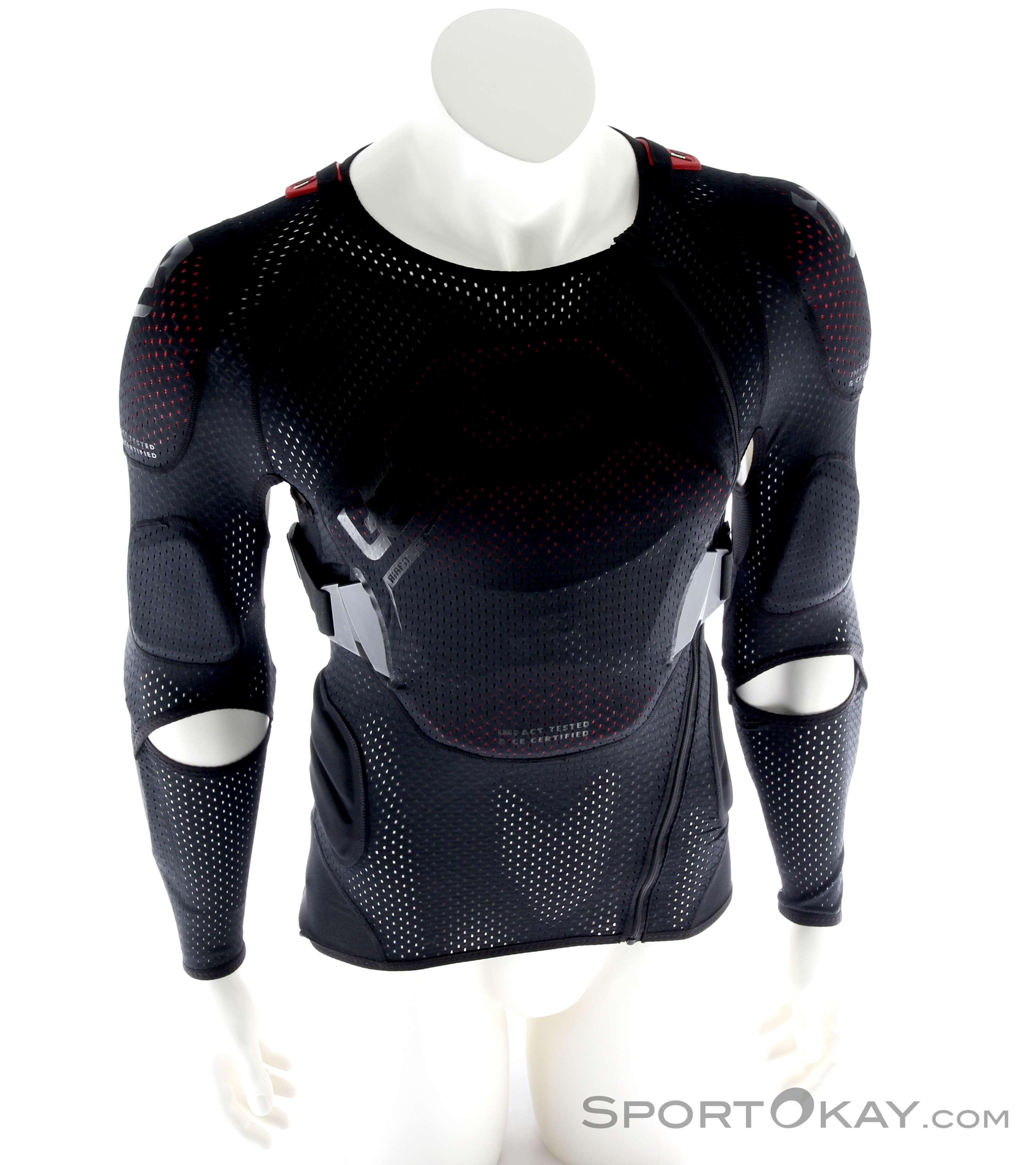 leatt 3df airfit lite nero 2019  Leatt Leatt Body Protector 3DF AirFit Lite Giacca Protettiva