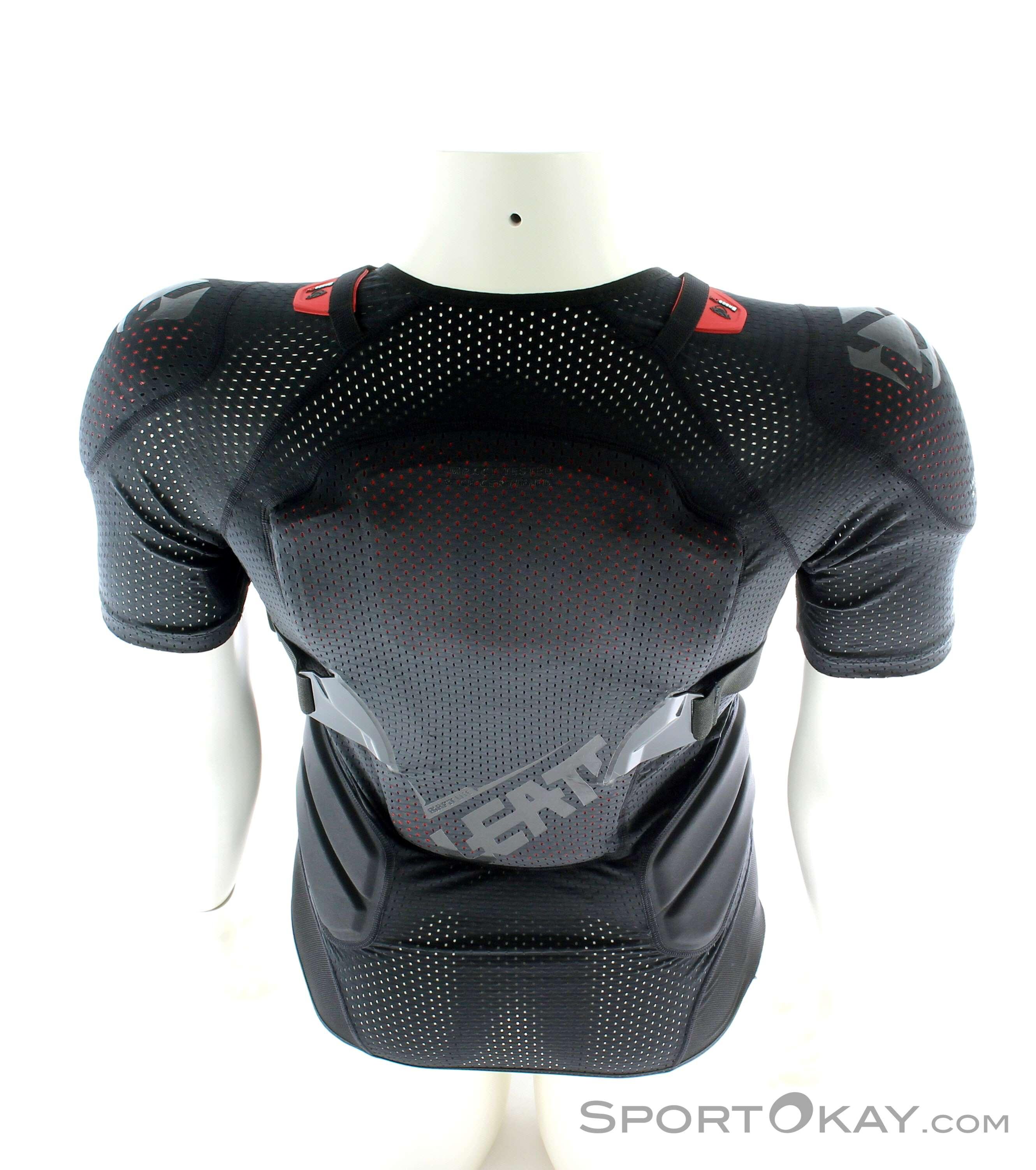 leatt 3df airfit lite nero 2019  Leatt Leatt Body Tee 3DF AirFit Lite Maglia Protettiva