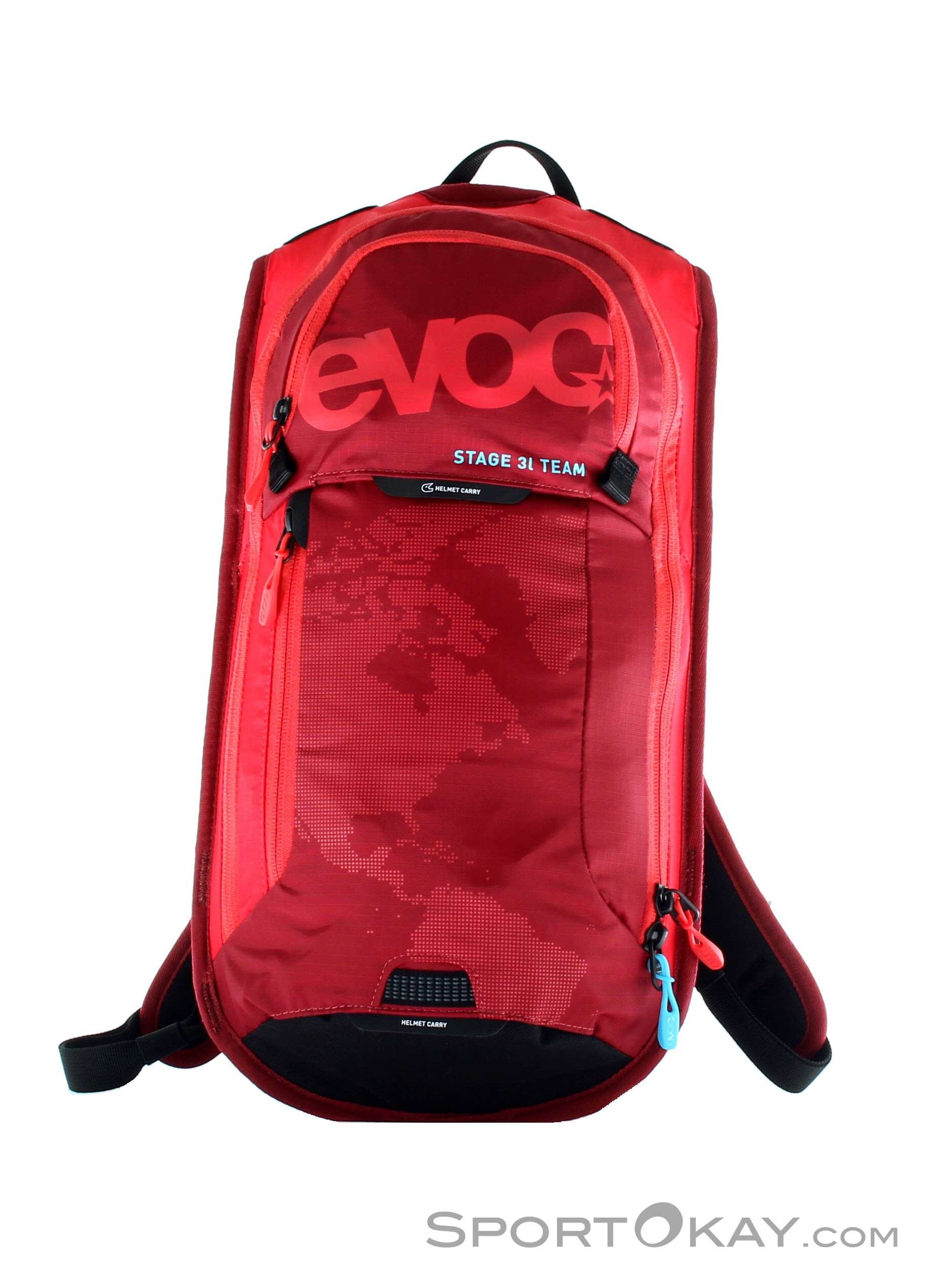 7e3d45c6c Evoc Stage Team 3l Bike Backpack with Hydration System, Evoc, Black, ,  Unisex