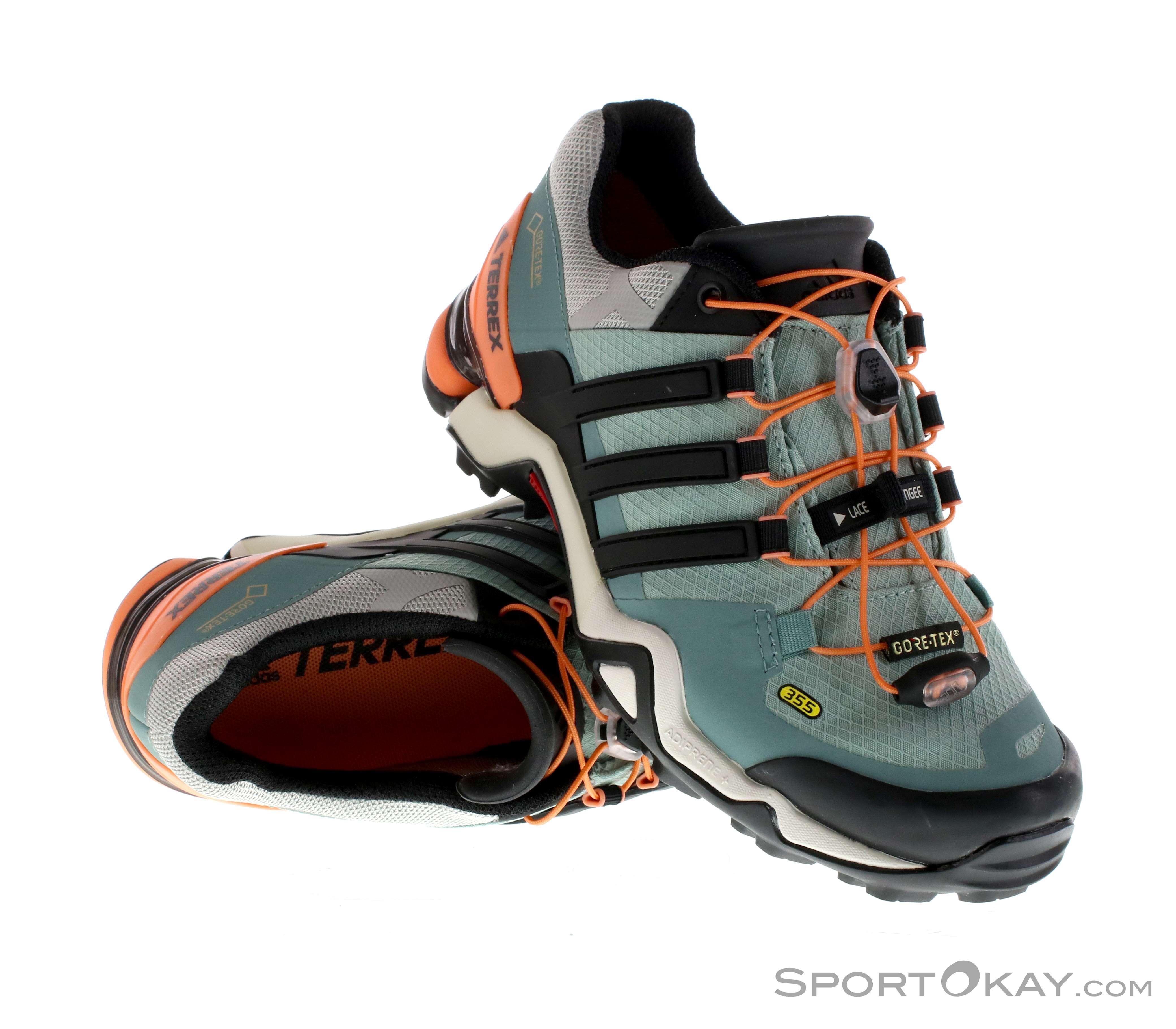 on sale 81650 5059a adidas Terrex Fast R GTX Womens Outdoor Shoes Gore-Tex, adidas, Gray,